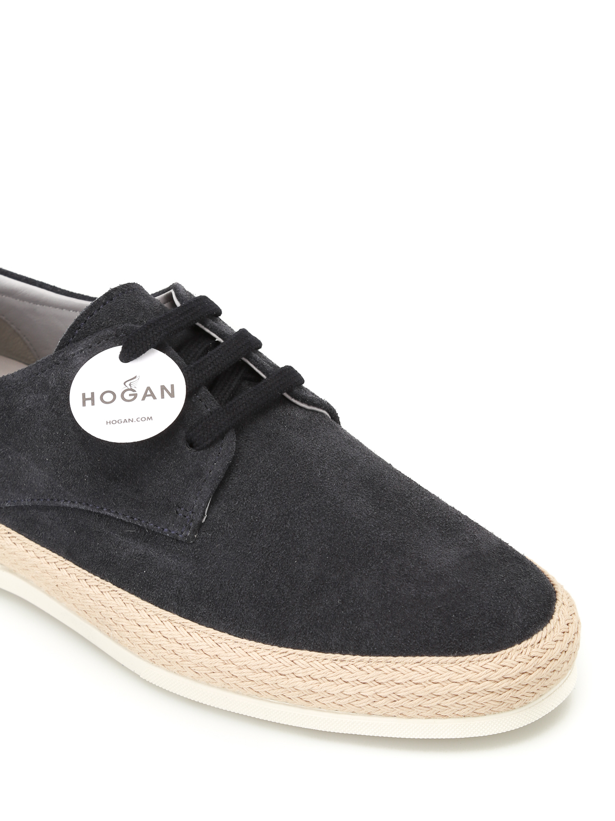 Chaussures Derby H358 Bleu Hogan 0FnuYE