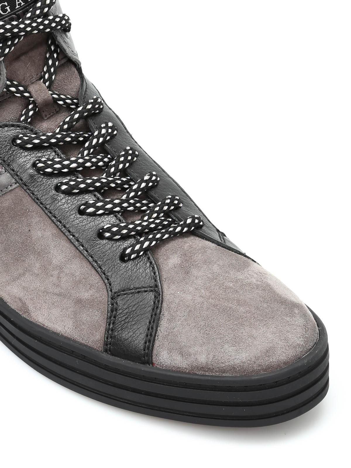b8a82529a30 iKRIX HOGAN REBEL  trainers - R141 high-top basket sneakers