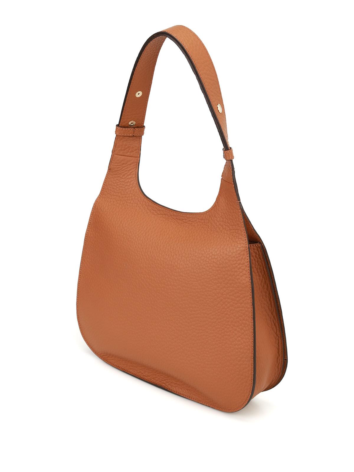 Hogan Hammered leather hobo bag ypUcO