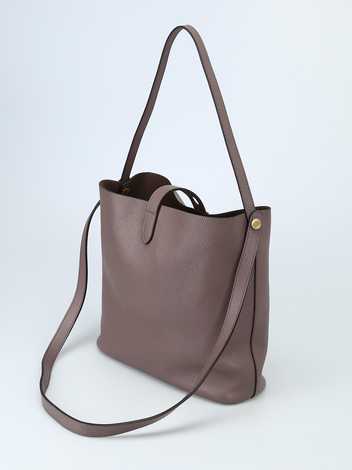 Shoulder bags Hogan - Hobo Iconic M leather shoulder bag ...
