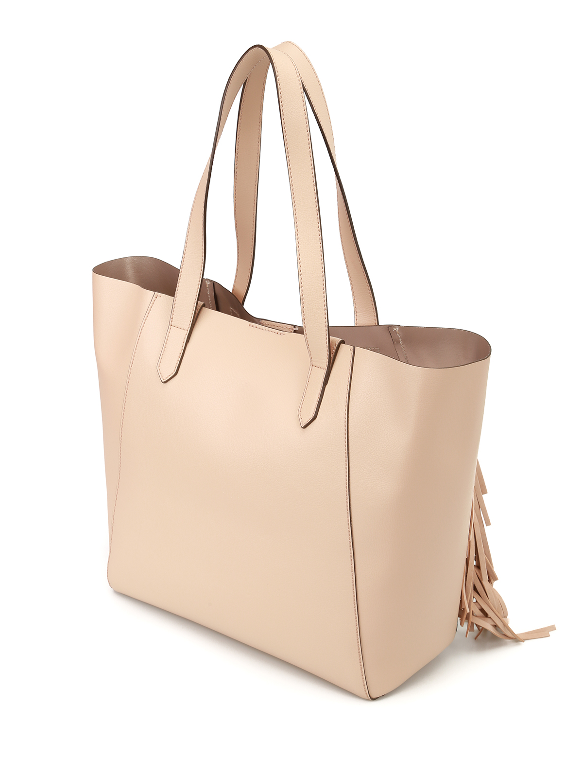 Hogan Leather tote with suede fringes HPcKOaaPKl