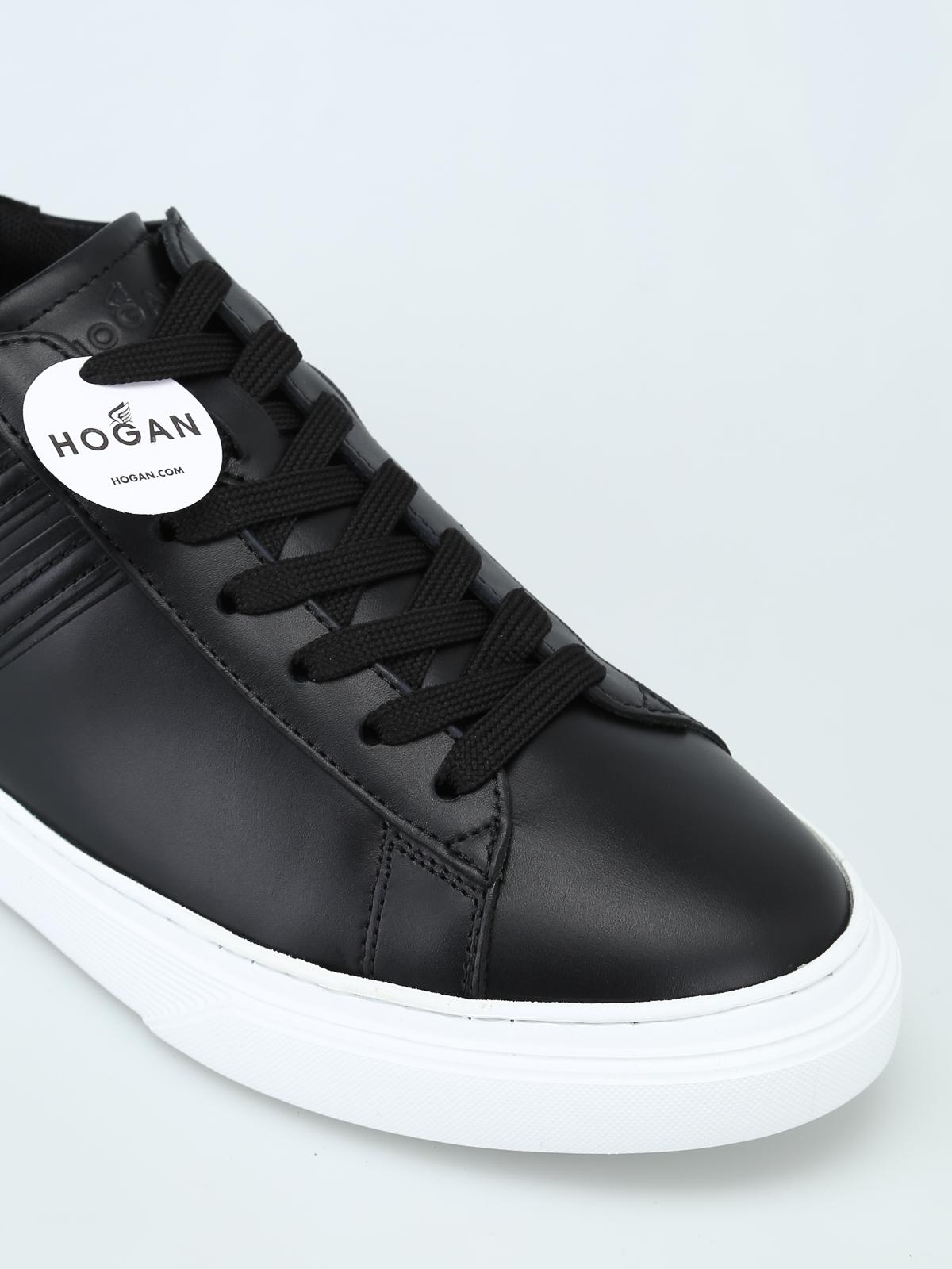 Trainers Hogan - Black H365 sneaker - HXM3650J310IHVB999 | iKRIX.com