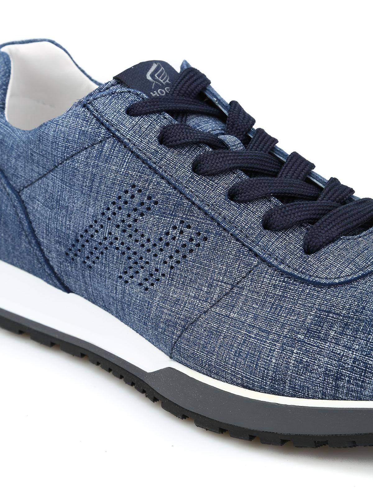 sneaker fur herren blau von hogan sneaker ikrix. Black Bedroom Furniture Sets. Home Design Ideas