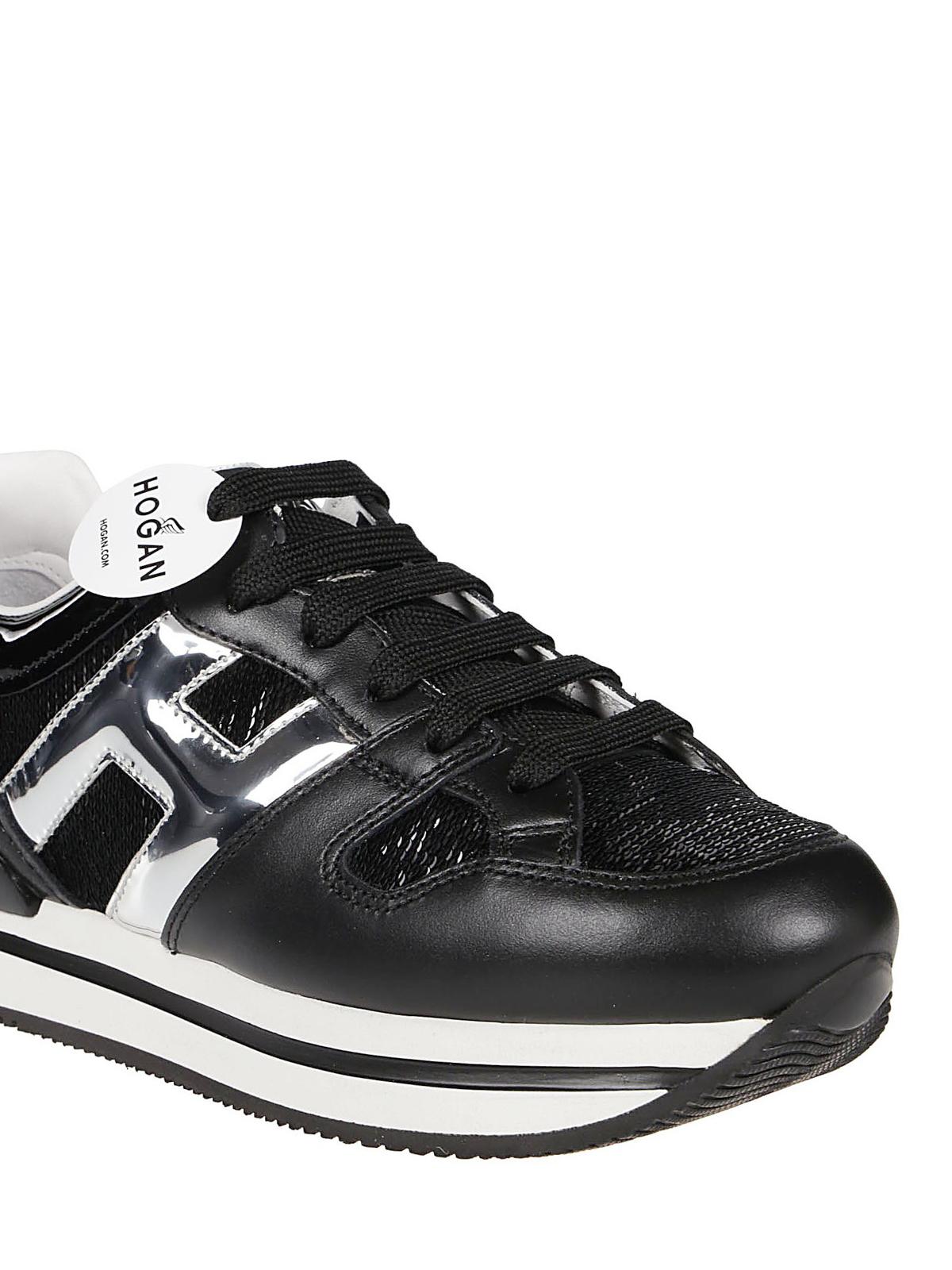 Sneakers Hogan - Sneaker H222 nere lucide - HXW2220T548LK00353 ...
