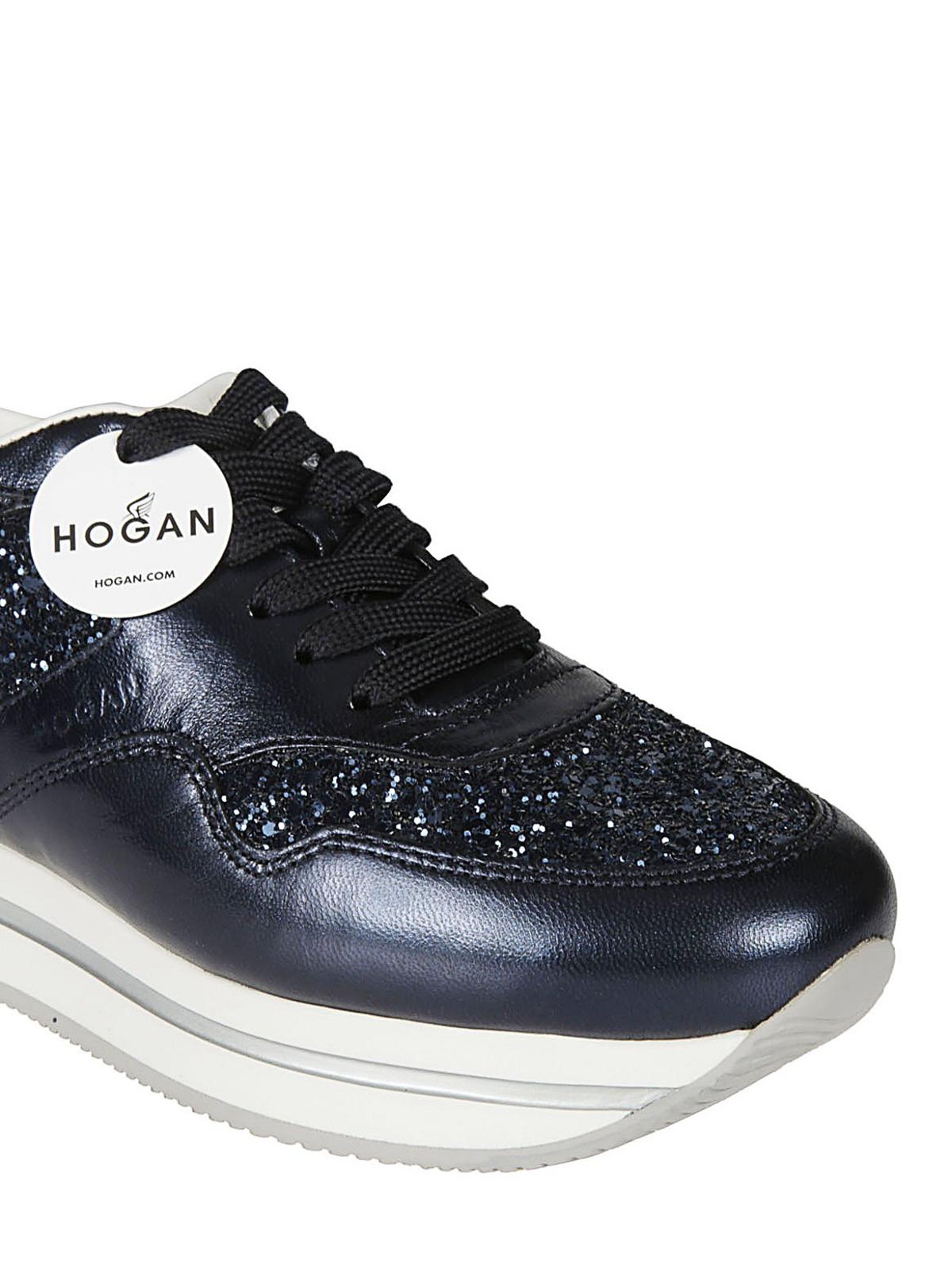 Hogan - H222 blue sneakers - trainers - HXW2220N62DKGR2A22 | iKRIX.com