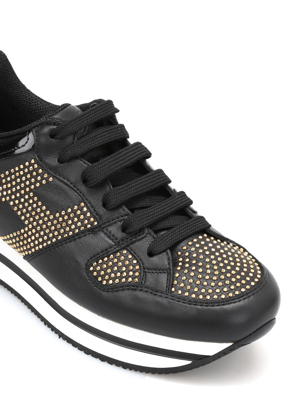 Hogan - Sneaker H222 Club con borchie - sneakers - GYW2220W780F7FB999