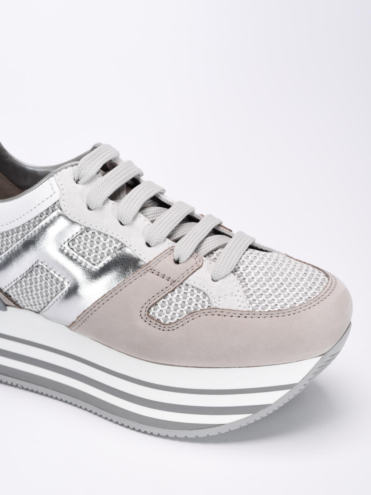 Hogan - H283 maxi sole sneakers - trainers - HXW2830U350FQ50QX3