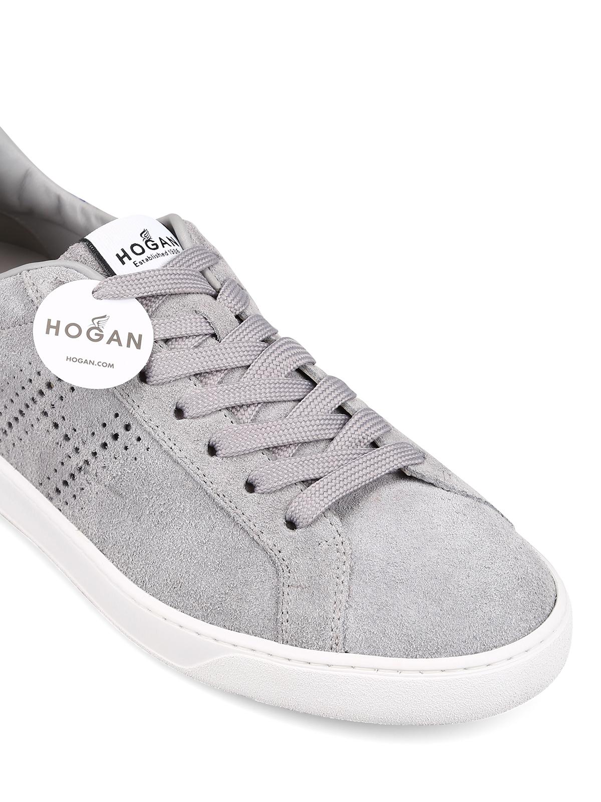 Hogan - H327 light grey sneakers - trainers - HXM3270BT10LK9278N