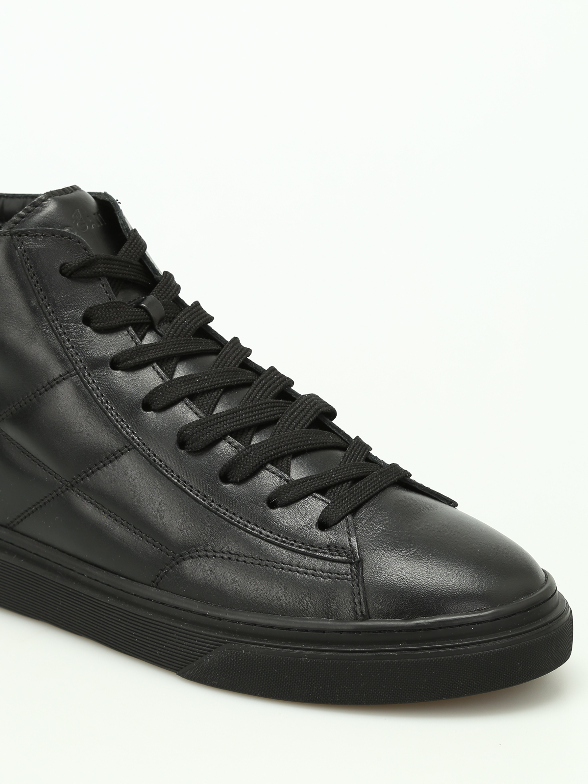 Hogan - H340 high-top leather sneakers - trainers - HXM3400J560HNY0XCR