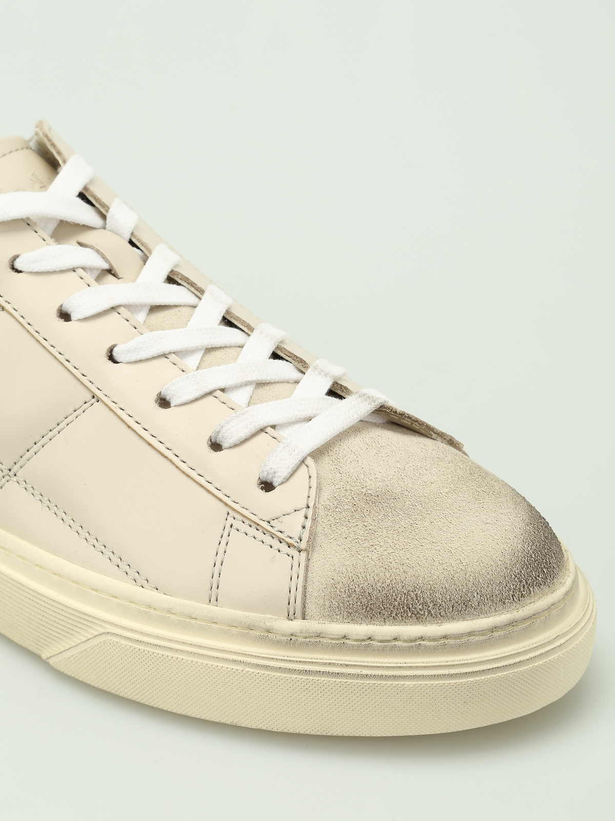 Hogan - H340 vintage leather sneakers - trainers - HXM3400J550HWPB019