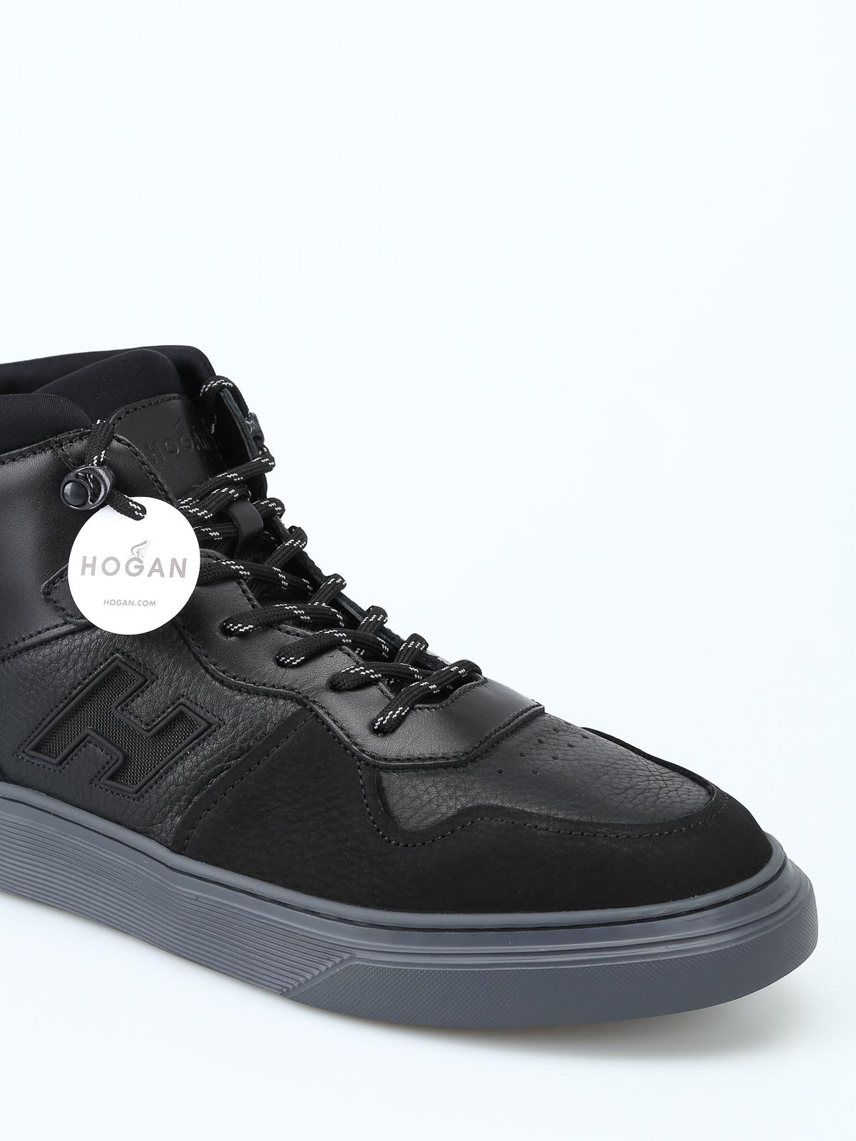 d4c053b6e8 iKRIX HOGAN: sneakers - Sneaker alte H365 nere modello basket