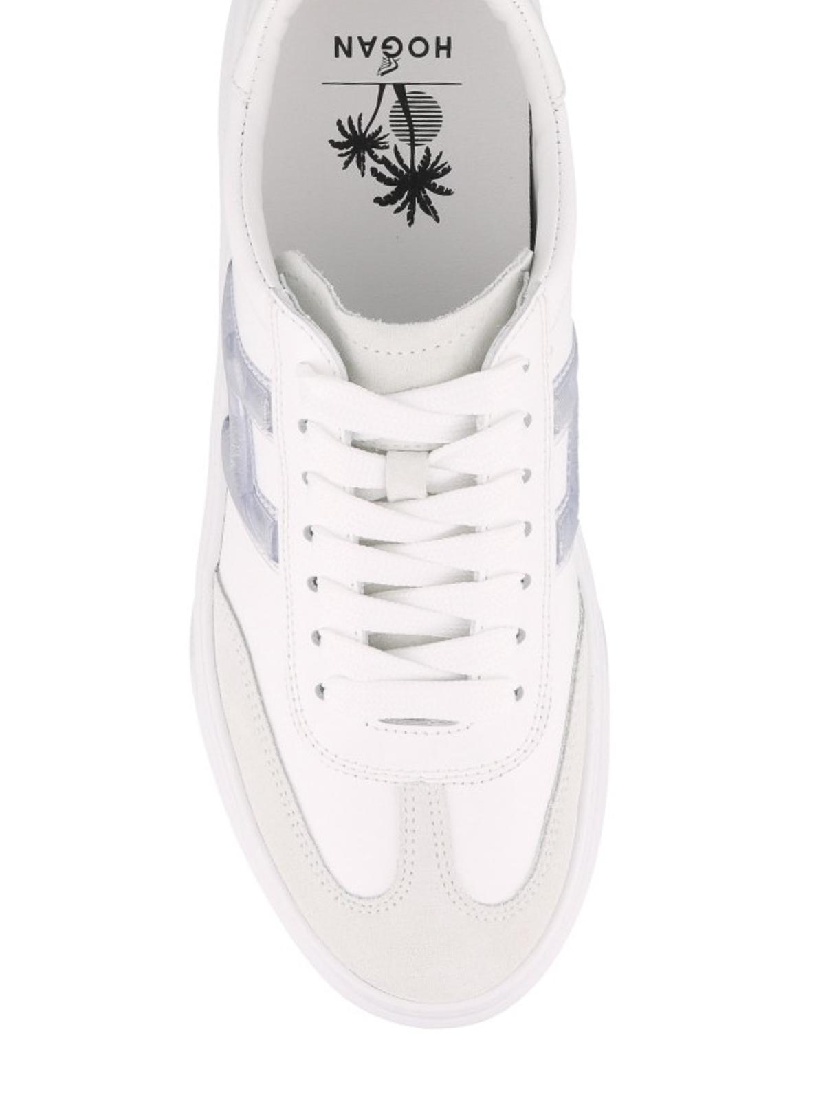 Hogan - Sneaker H365 in pelle e suede - sneakers - HXW3650BJ50KGYB001