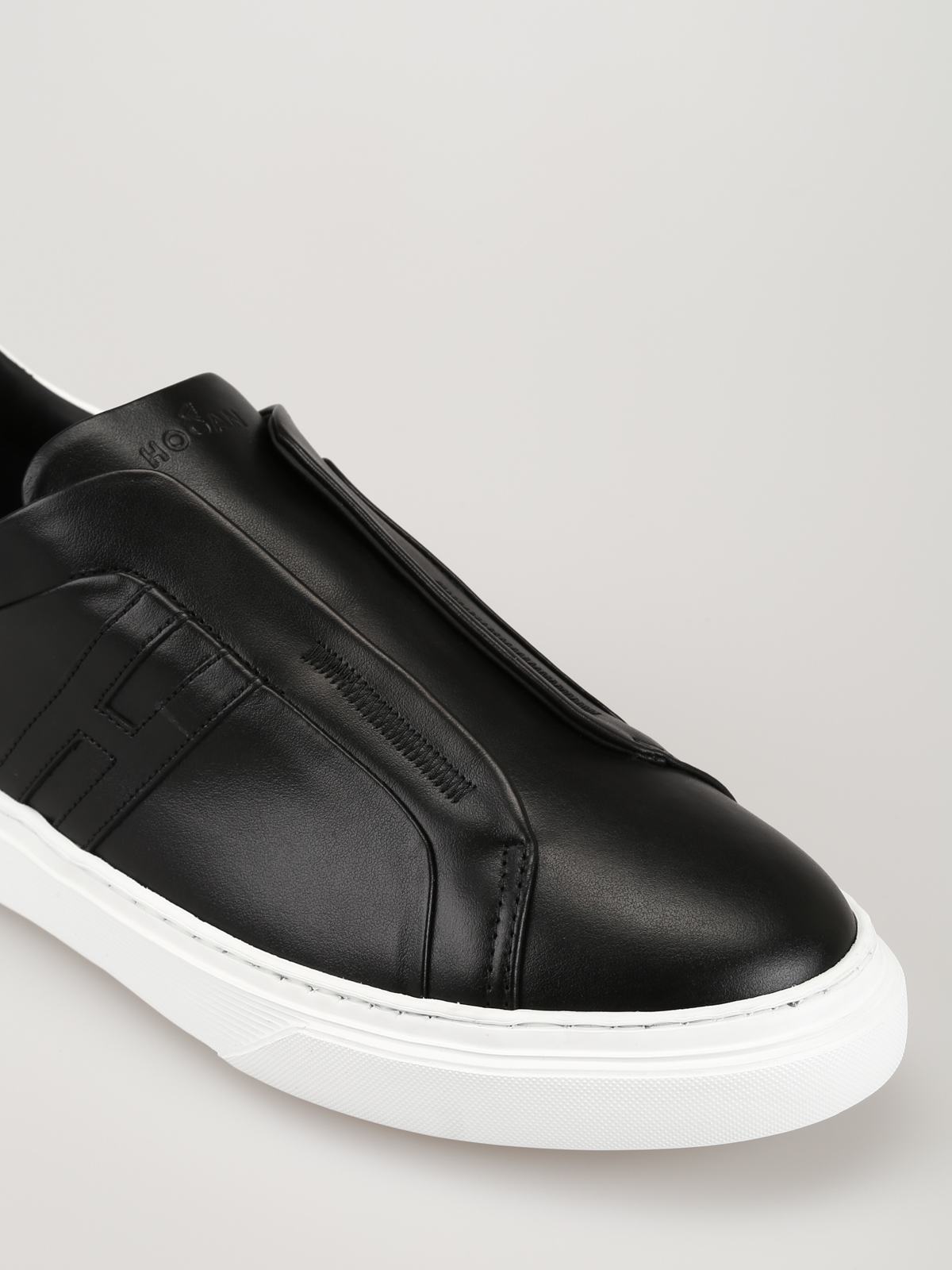 Hogan - H365 leather slip-ons - trainers - HXM3650BE00KFM0002 ...