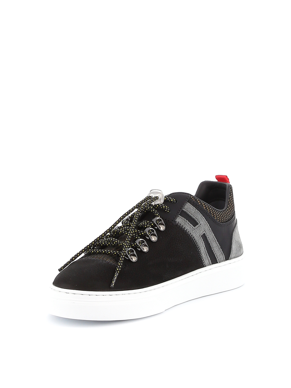 Trainers Hogan - H365 sneakers with hiking style laces ...