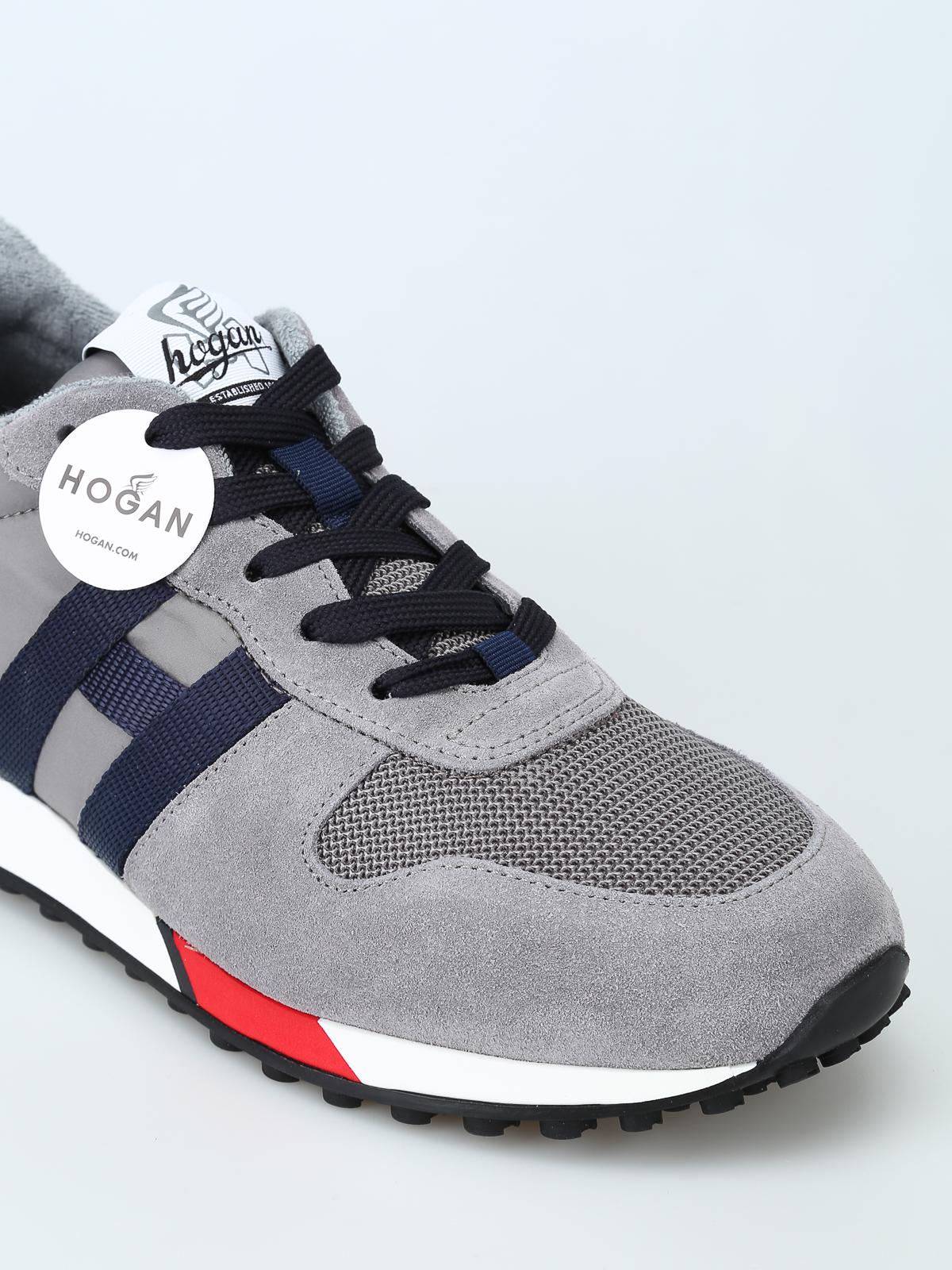 Trainers Hogan - H383 new running light grey sneakers ...