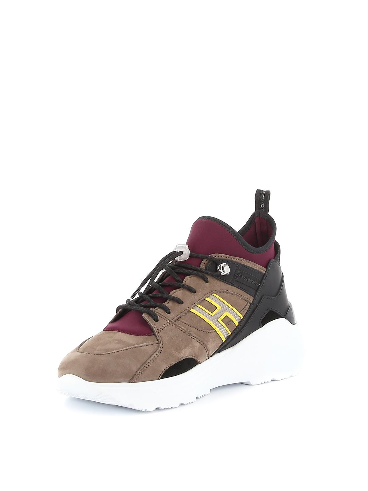 Trainers Hogan - H443 multi fabric sneakers - HXM4430BX90LMB749K