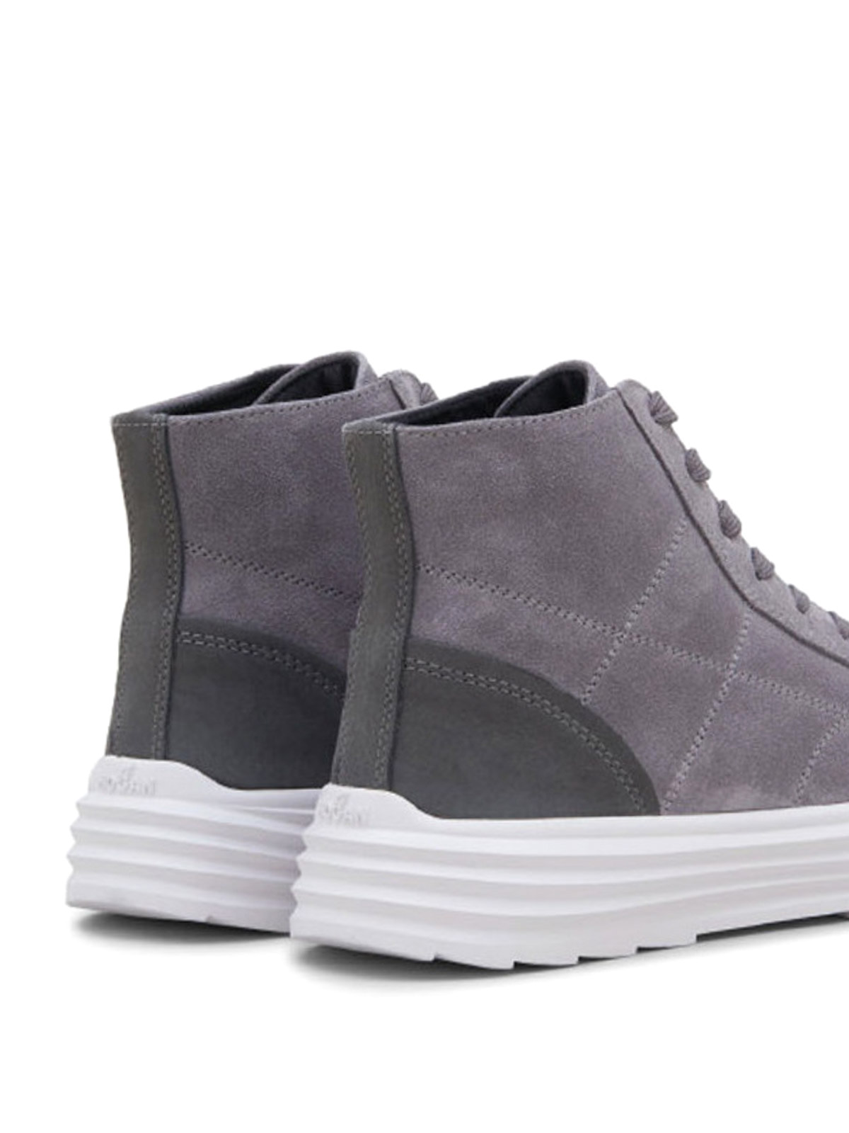 Hogan - Helix H341 quilted suede sneakers - اسپرت،اسنیکرز ...