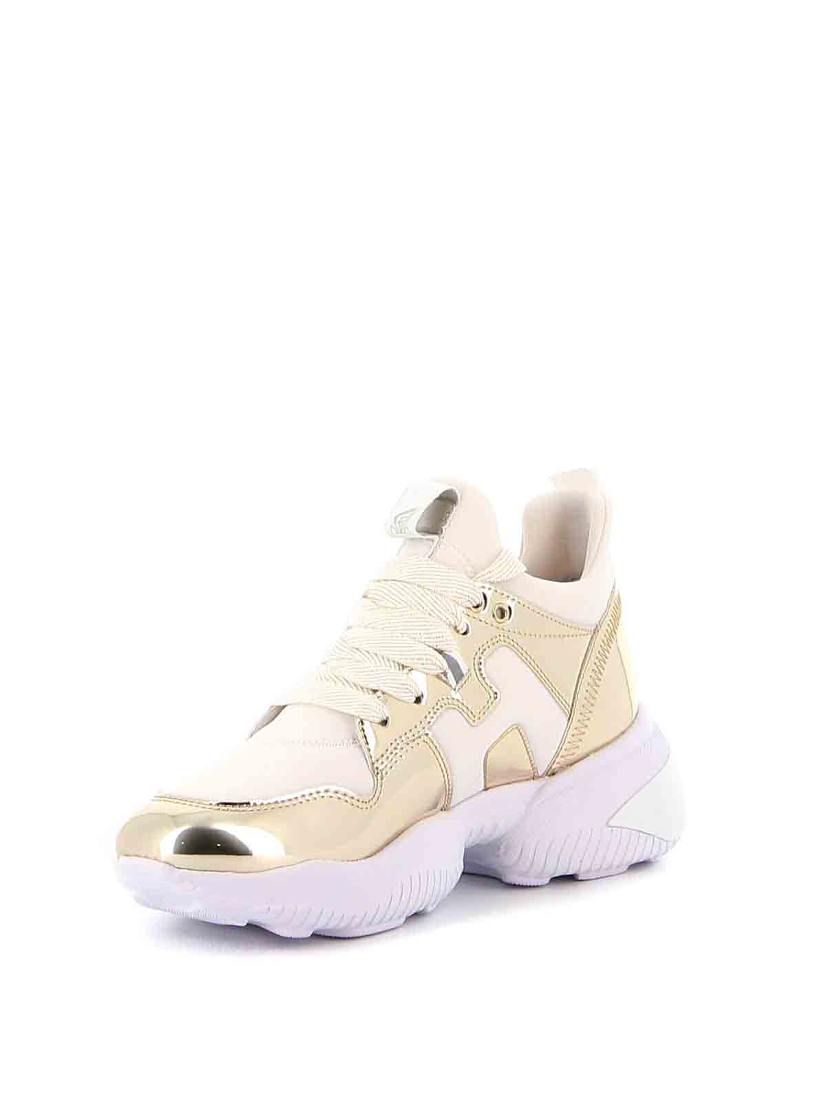Hogan - Sneakers Interaction dorate - sneakers - HXW5250CH20MSX0746