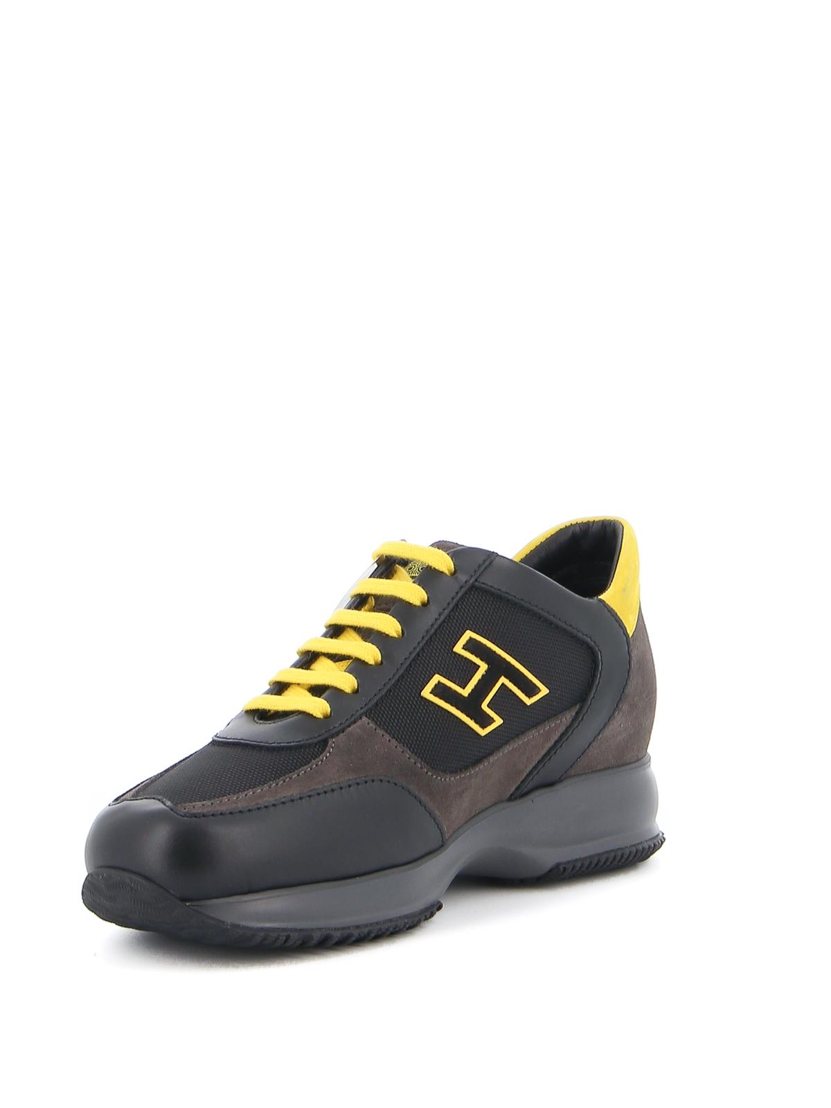 Trainers Hogan - Interactive black sneakers - HXM00N0Q101O8M50BJ