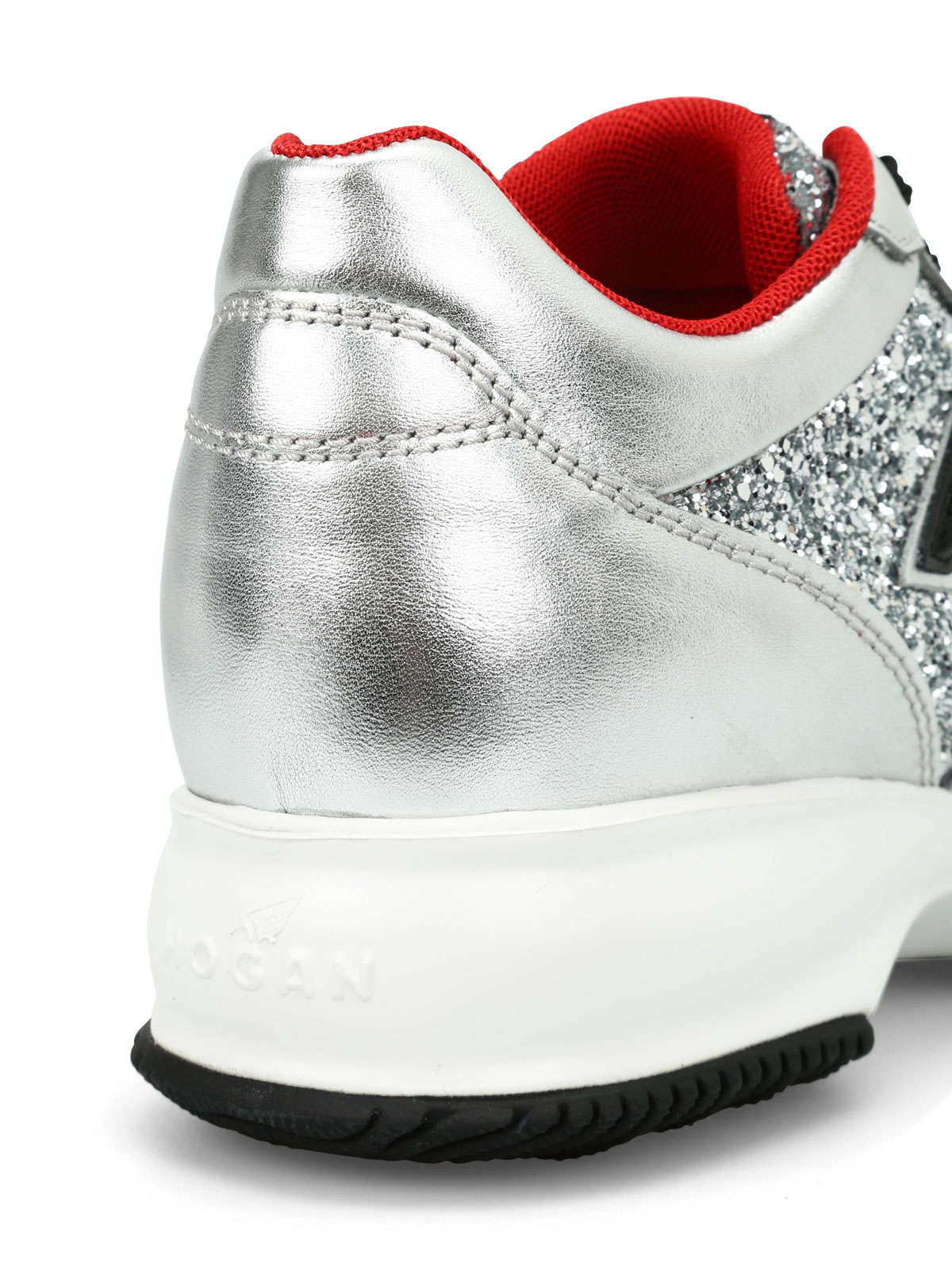 Trainers Hogan - Interactive Club glitter sneakers ...