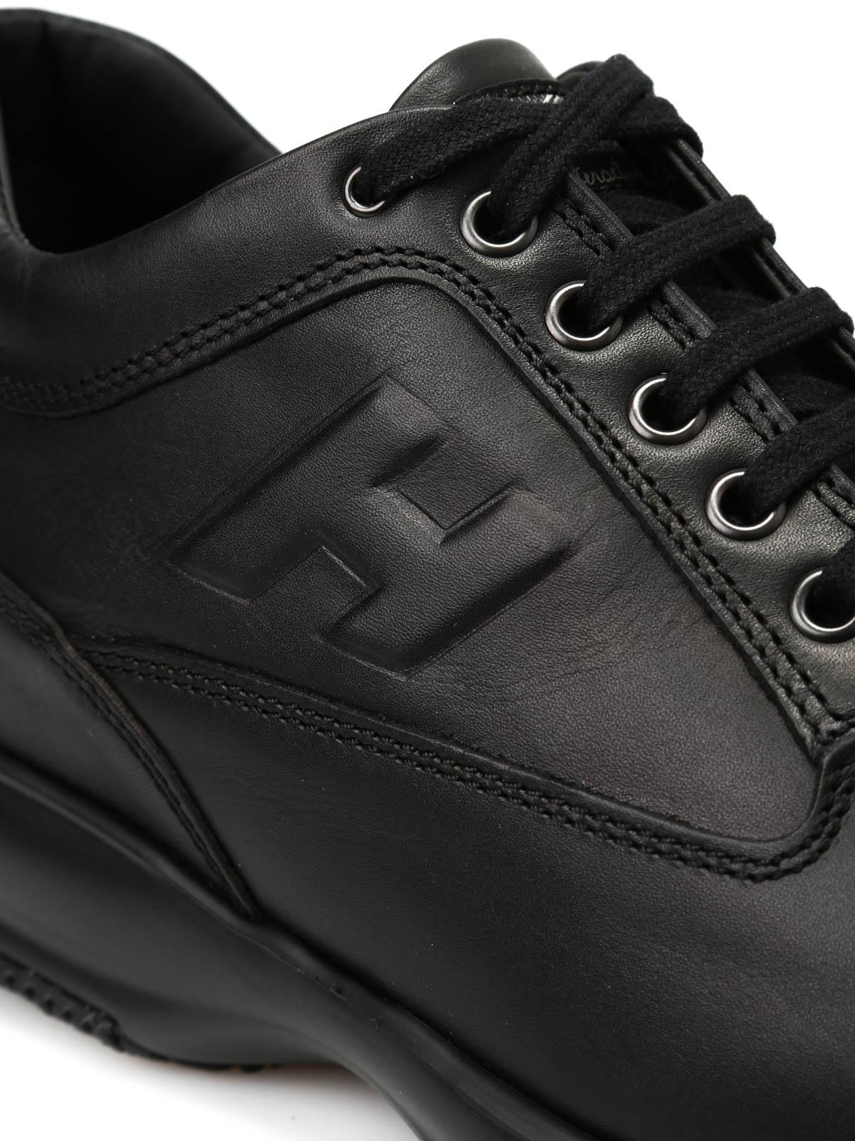 Sneakers Hogan - Interactive con H in rilievo - HXM00N09042DSVB999