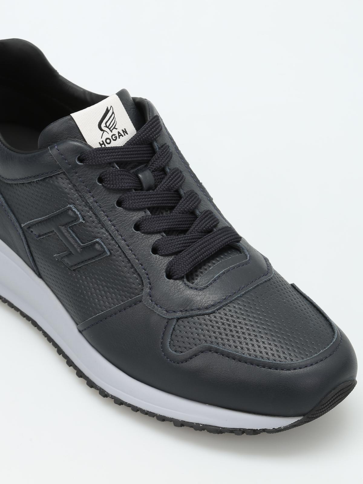 Sneakers Hogan - Interactive N20 in pelle - HXM2460T790BTLU805 ...