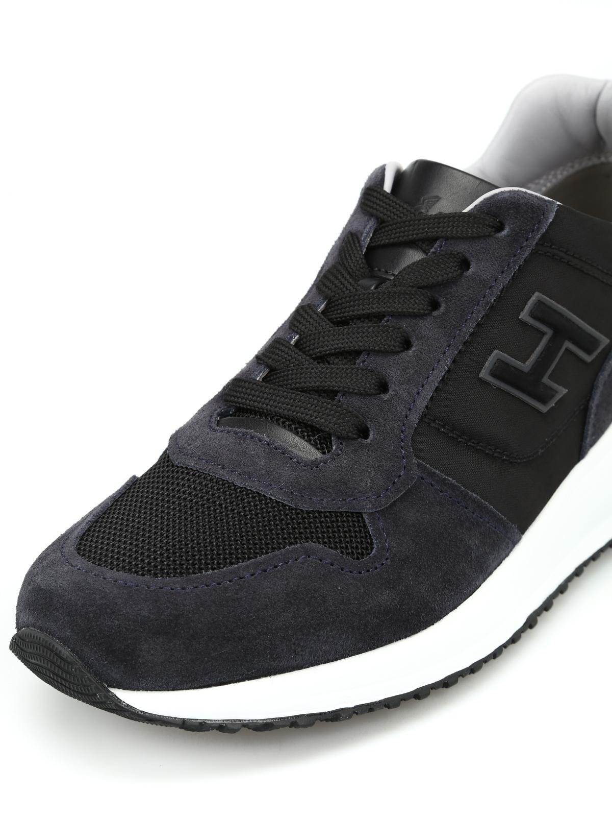 Sneakers Hogan - Interactive N20 bicolori in pelle ...