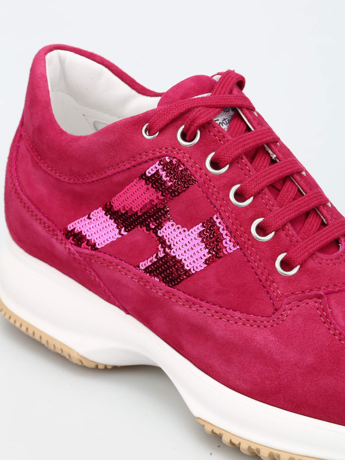 Sneakers Hogan - Interactive con H in paillettes - HXW00N05641CR0R407