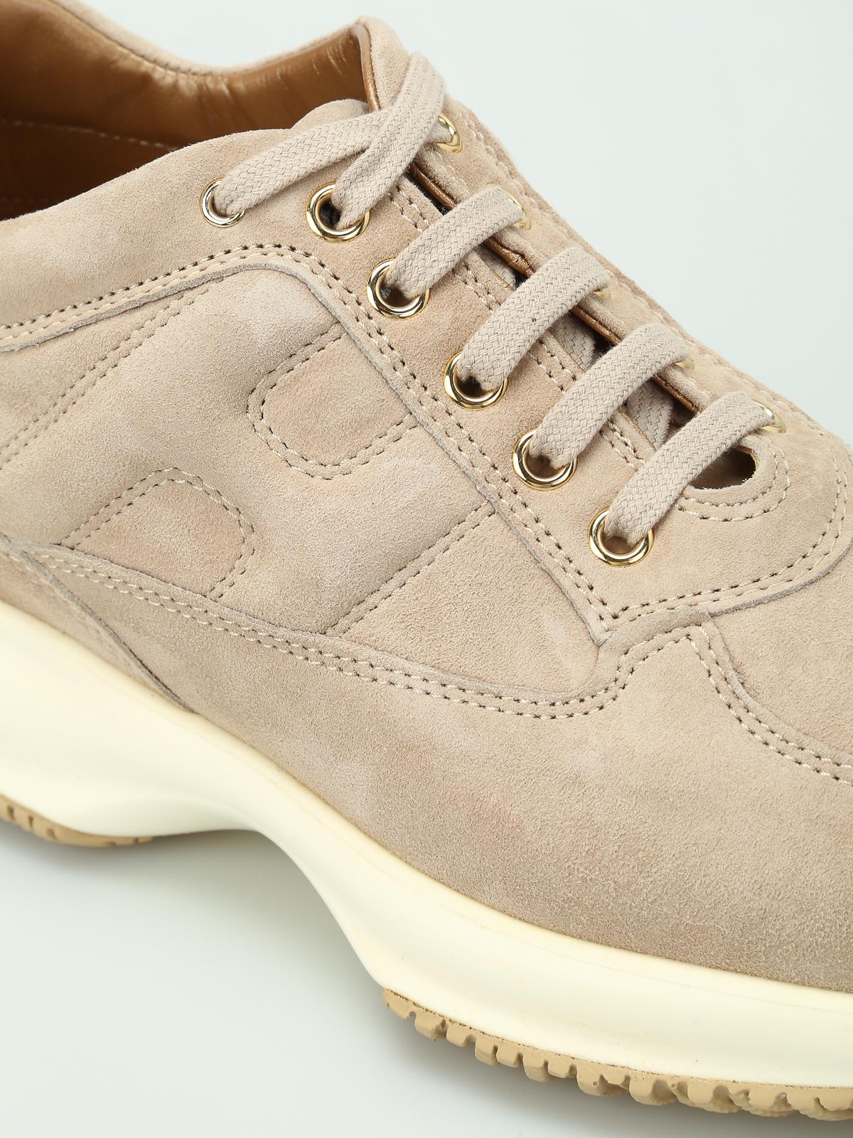 Sneakers Hogan - Sneaker Interactive camoscio beige ...
