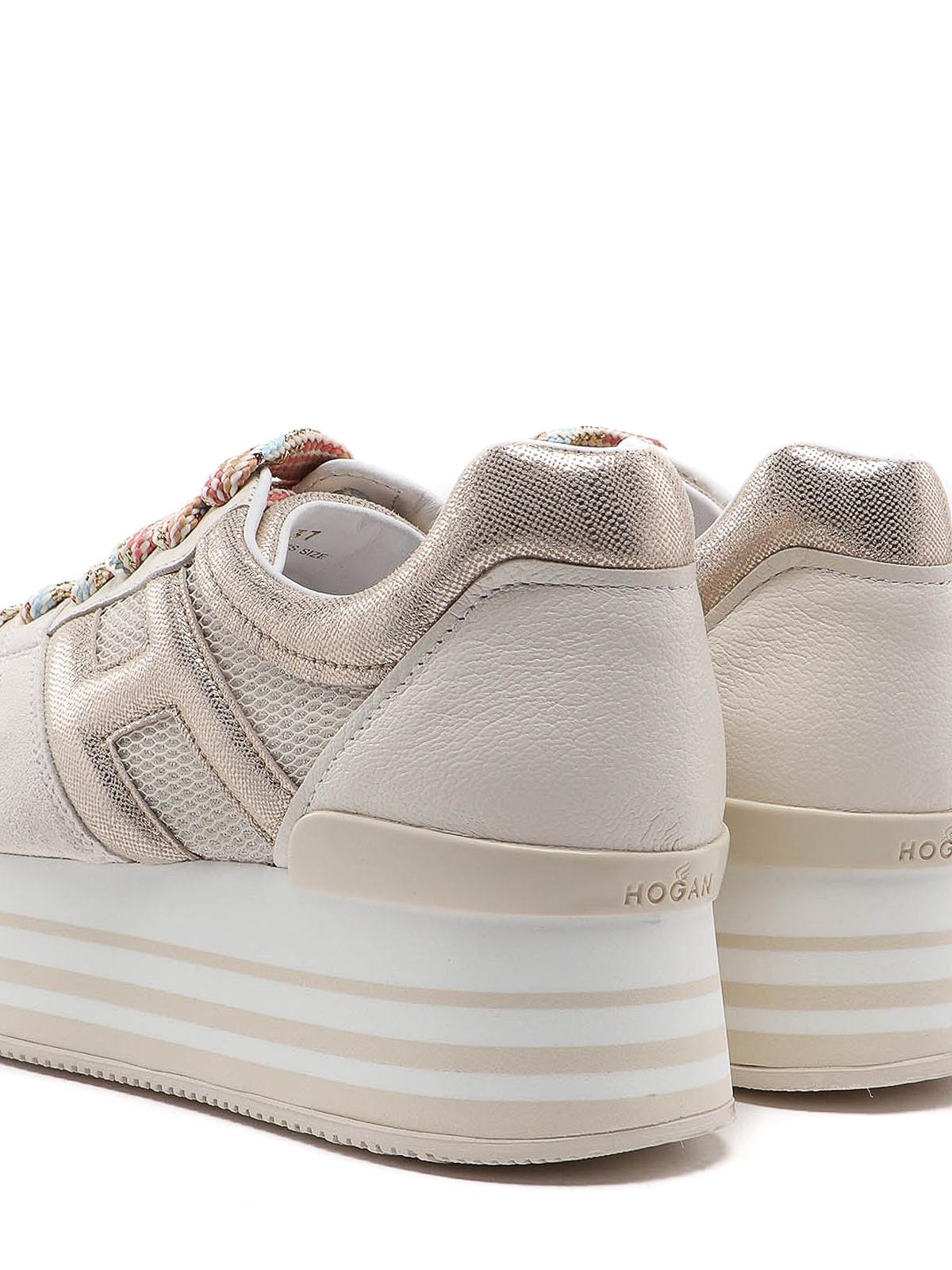 Trainers Hogan - Maxi H222 sneakers - HXW2830U352N8E0QQT   iKRIX.com