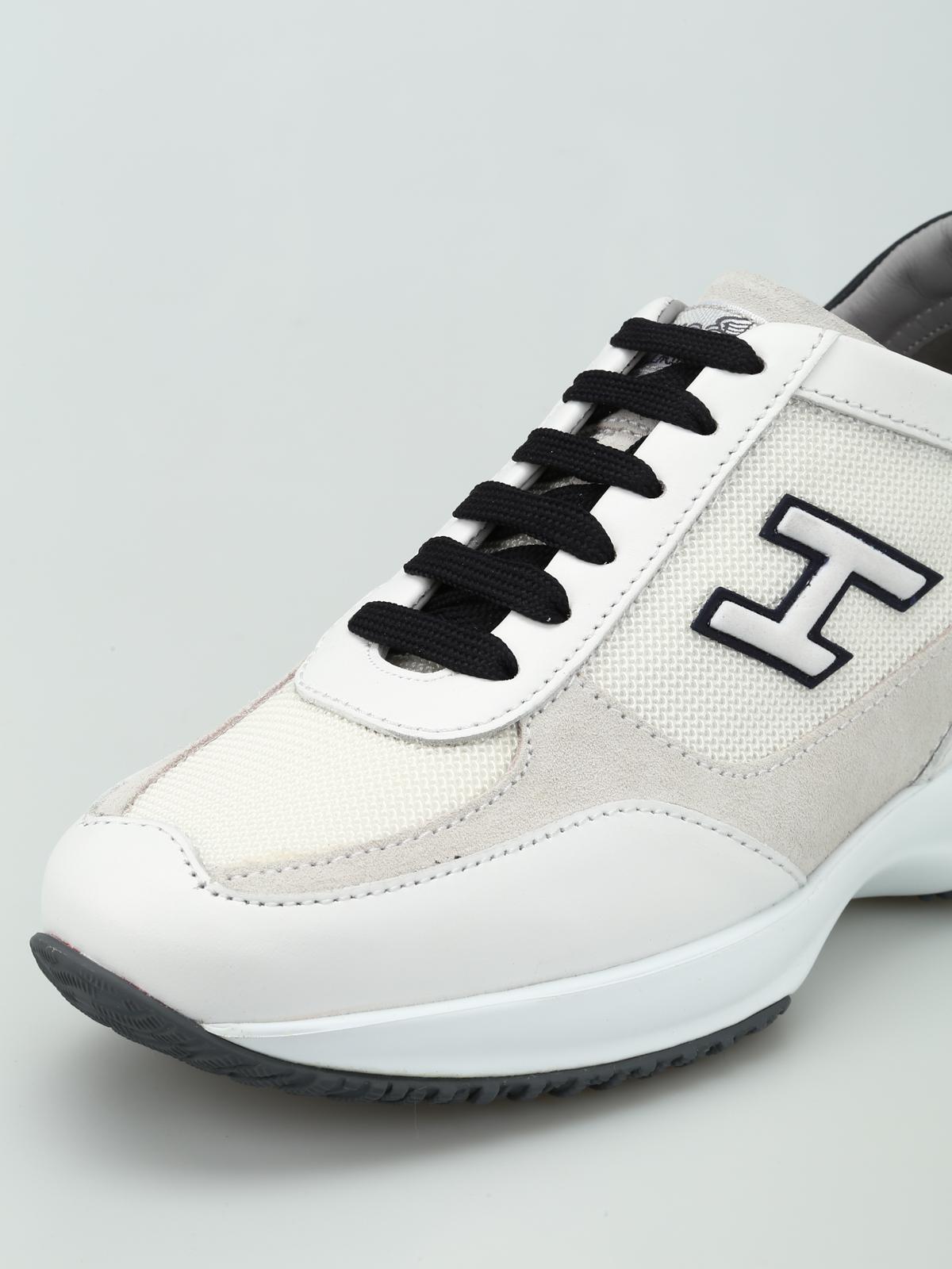 Blanc 3 Chaussures De Sport Interactive Hogan 11iMCUiUx
