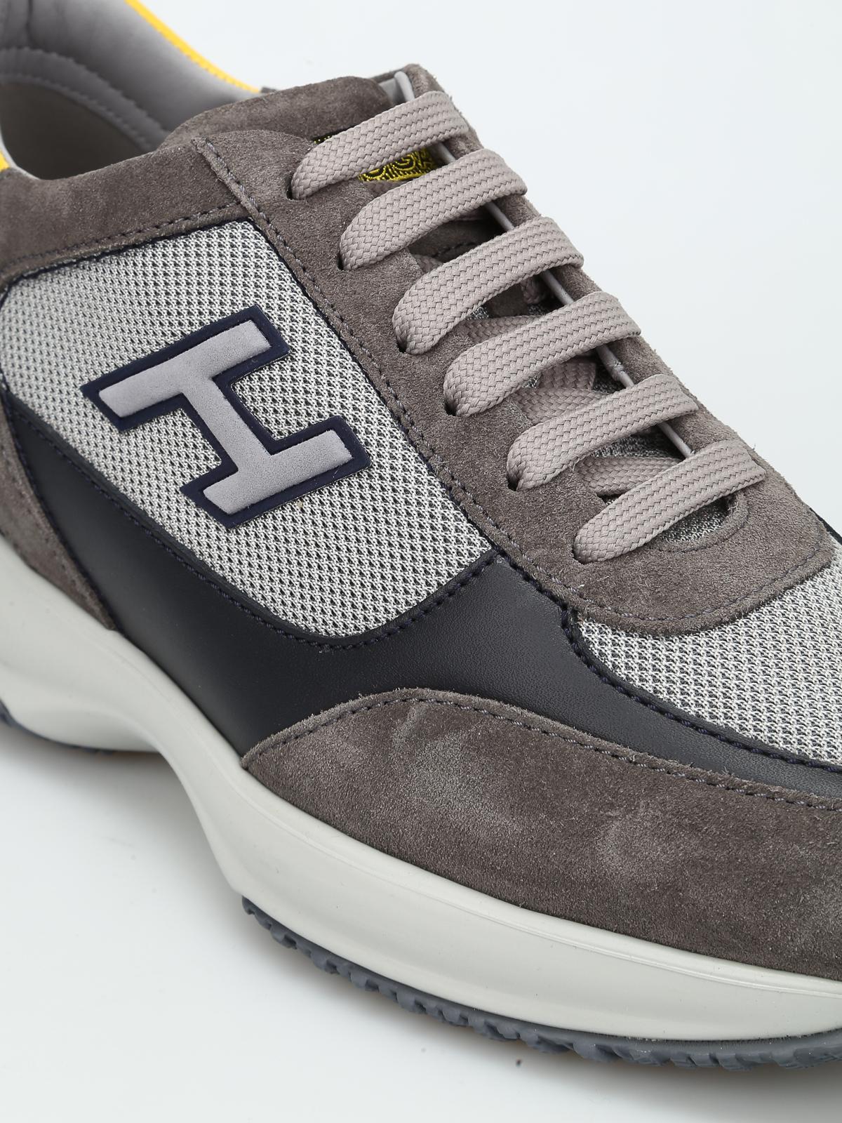 Sneakers Hogan - Sneaker bicolore New Interactive - HXM00N0Q102FJ9637R
