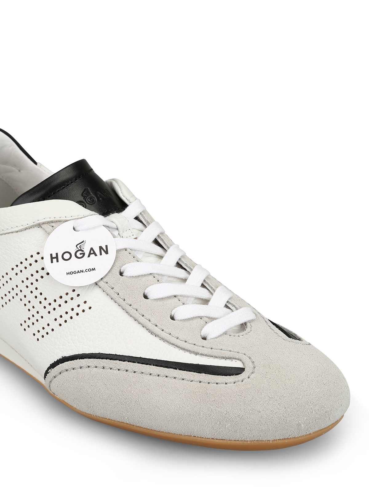 e28434a467c3 Hogan - Olympia Slash drilled H sneakers - trainers - HXM0520G752L1K2ABP