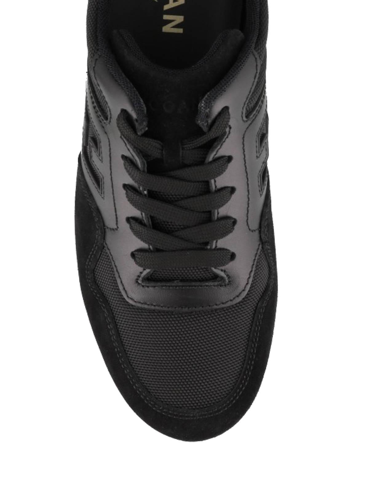 Trainers Hogan - Olympia X - H205 black sneakers - HXM2050X602JMIB999