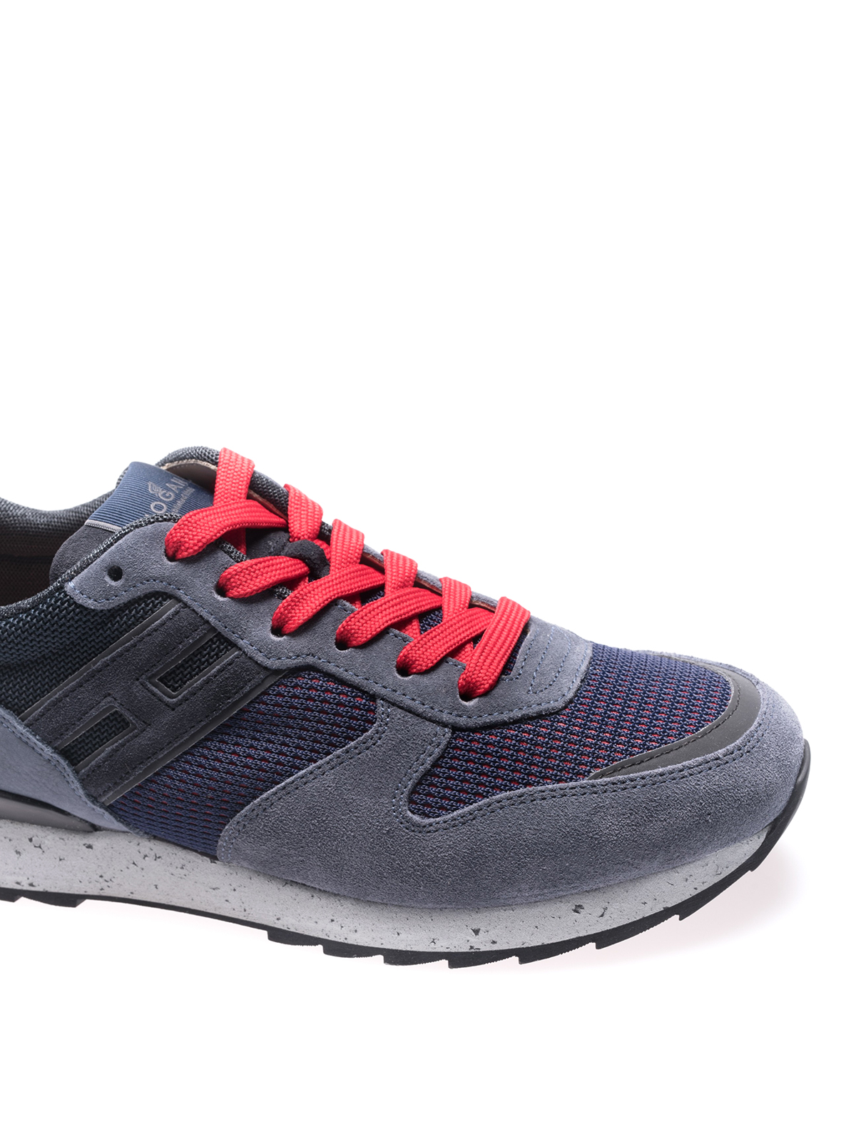 Hogan - R261 lace-up sneakers - trainers - HXM2610R676IHS0PD3 ...
