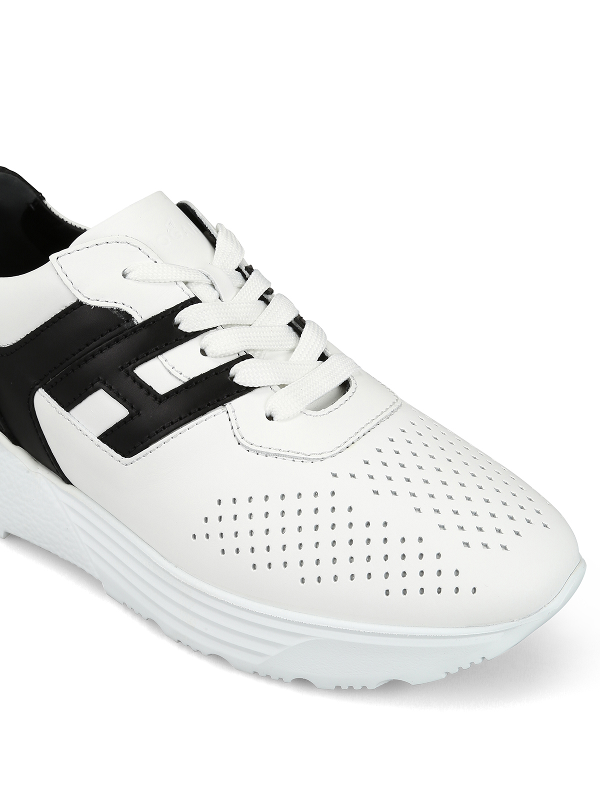 Sneakers Hogan - Sneaker Active One bianche e nere ...