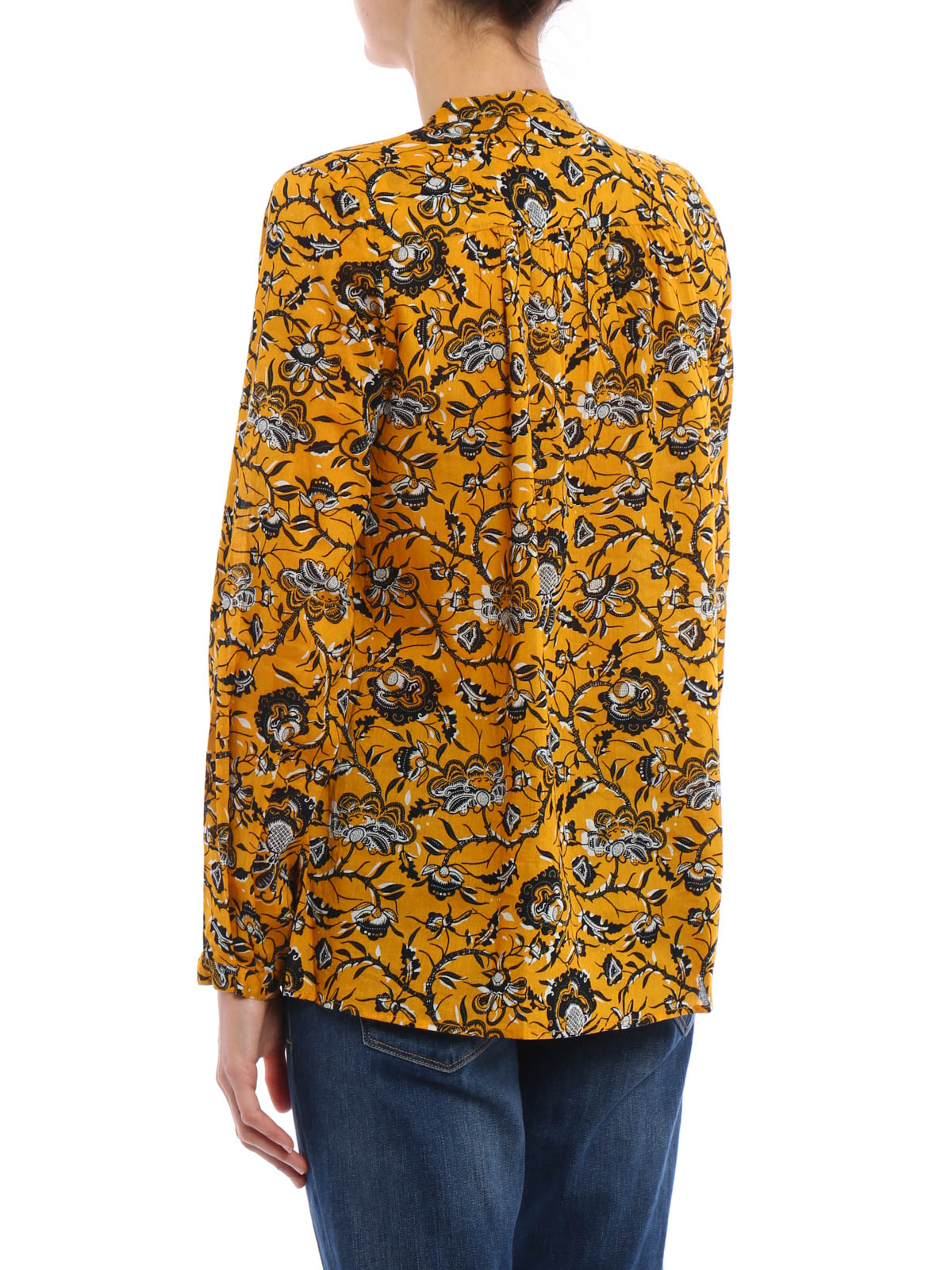 isabel marant etoile amaria blouse blouses. Black Bedroom Furniture Sets. Home Design Ideas