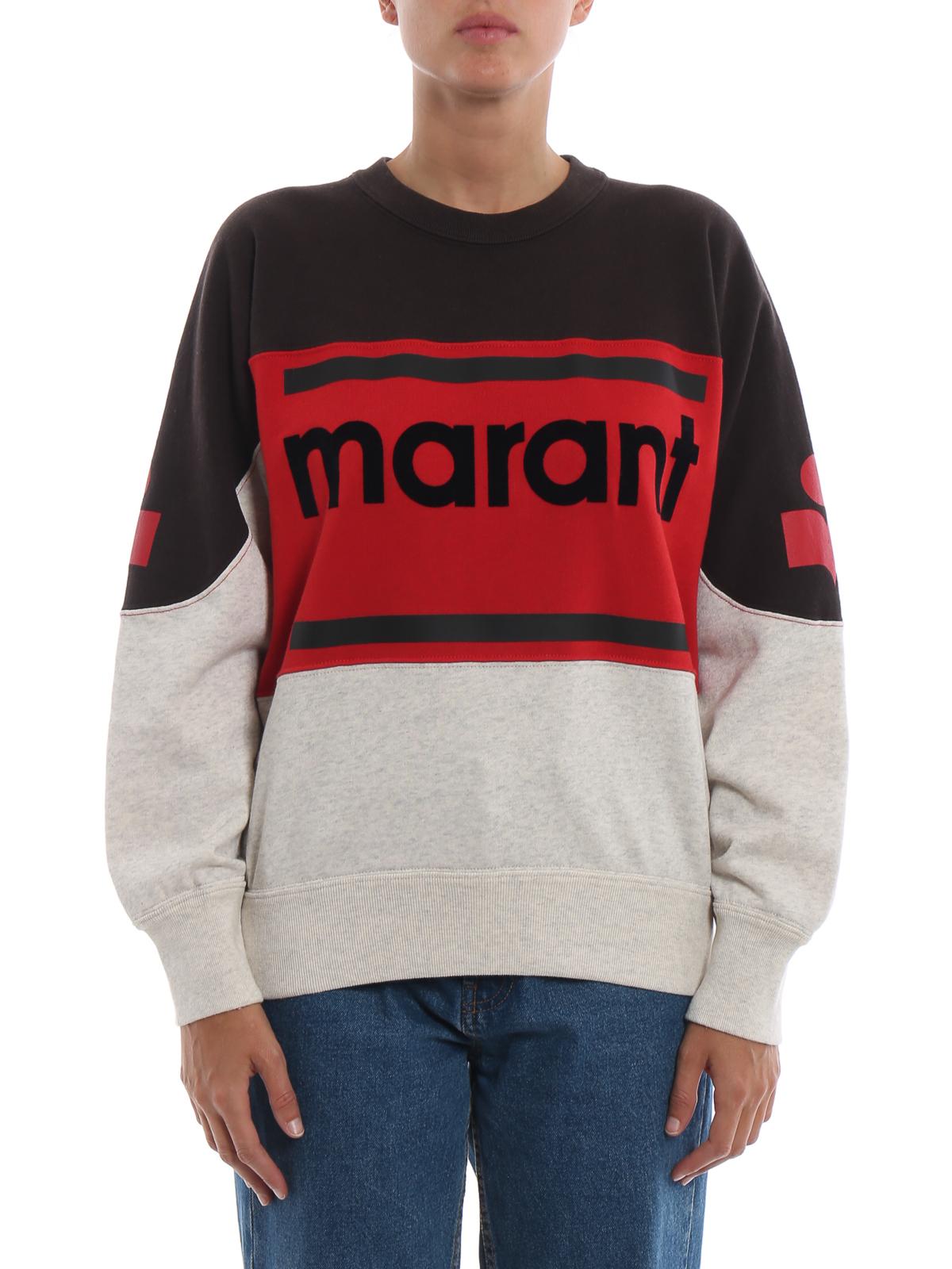 fa4b88e9b14 iKRIX Isabel Marant Etoile: Sweatshirts & Sweaters - Gallian colour block  sweatshirt