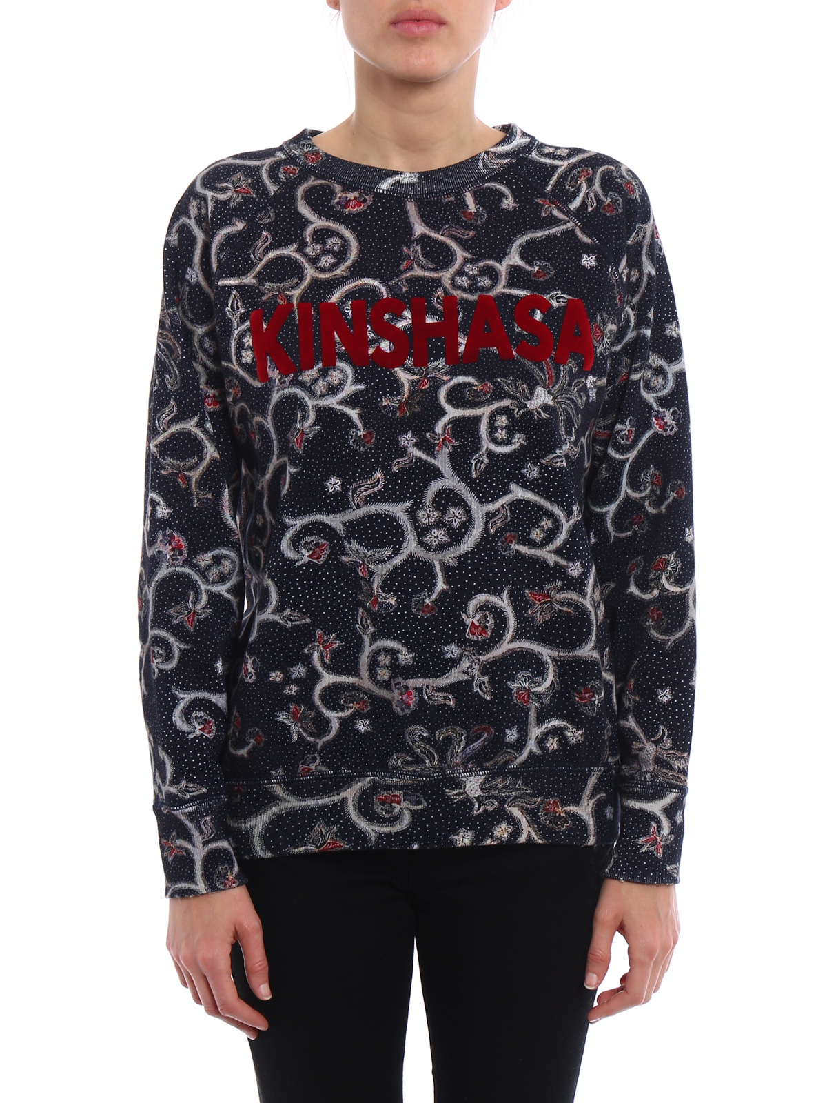 Outlet Footlocker Pictures Perfect Black Xilo sweatshirt Isabel Marant Cheap Price Wholesale Price Clearance Best Seller aiI3Y