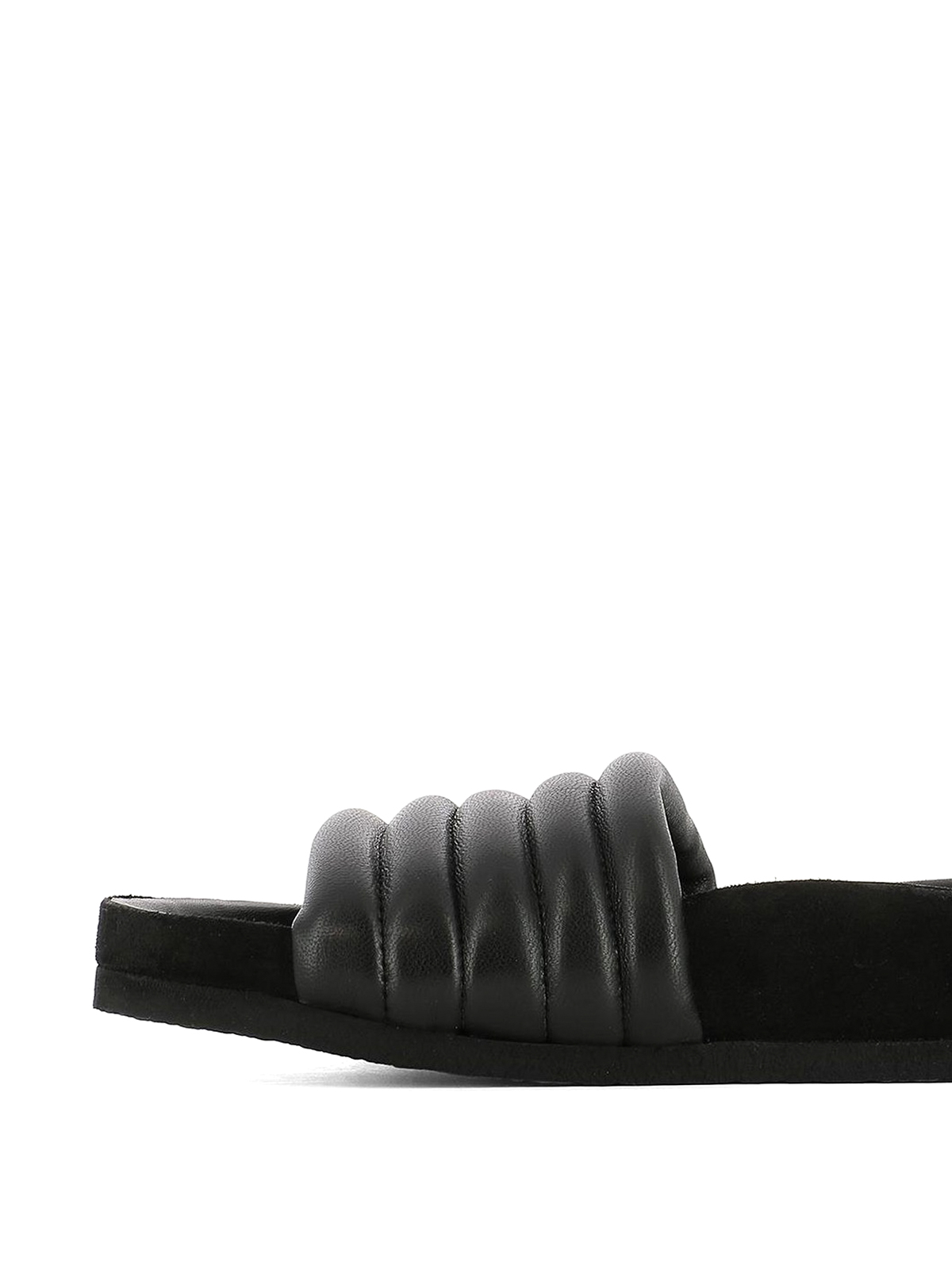 dbfaef2a21 iKRIX ISABEL MARANT: sandals - Hellea quilted leather slippers