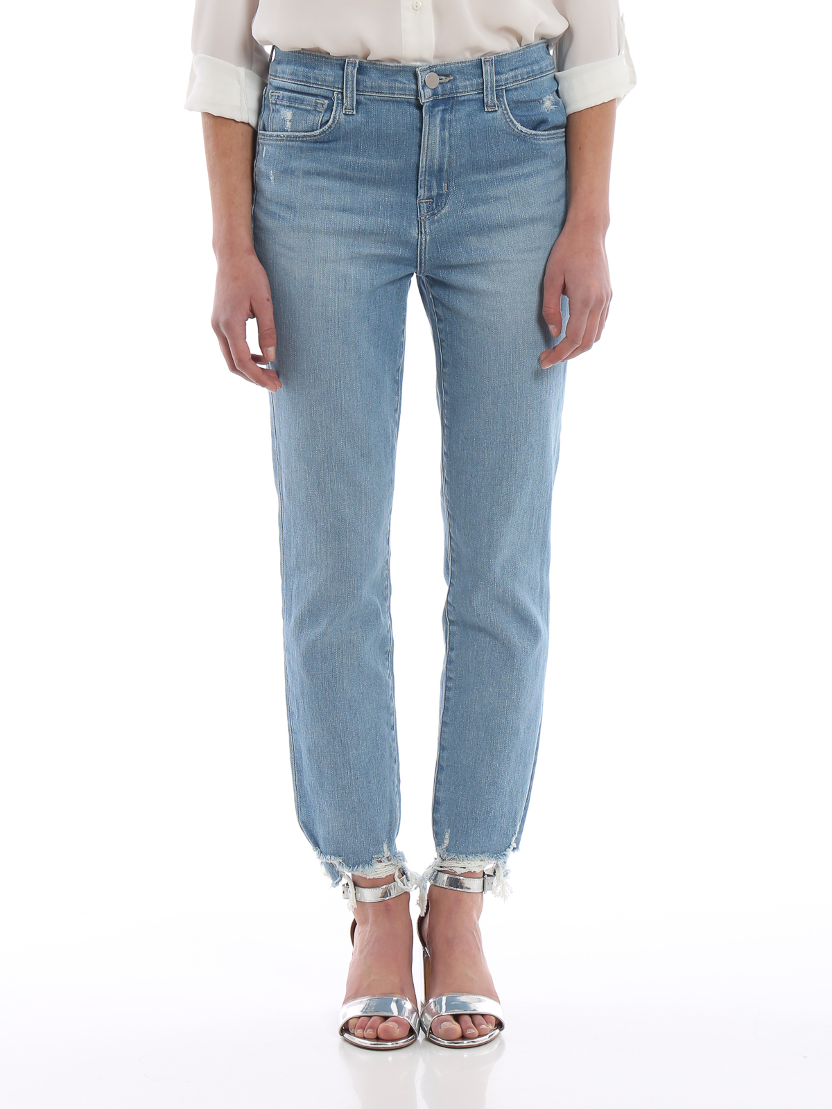 J Brand Jeans cropped a sigaretta Ruby jeans skinny