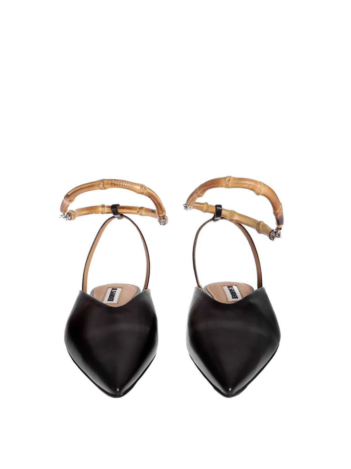 bamboo anklet - mules shoes