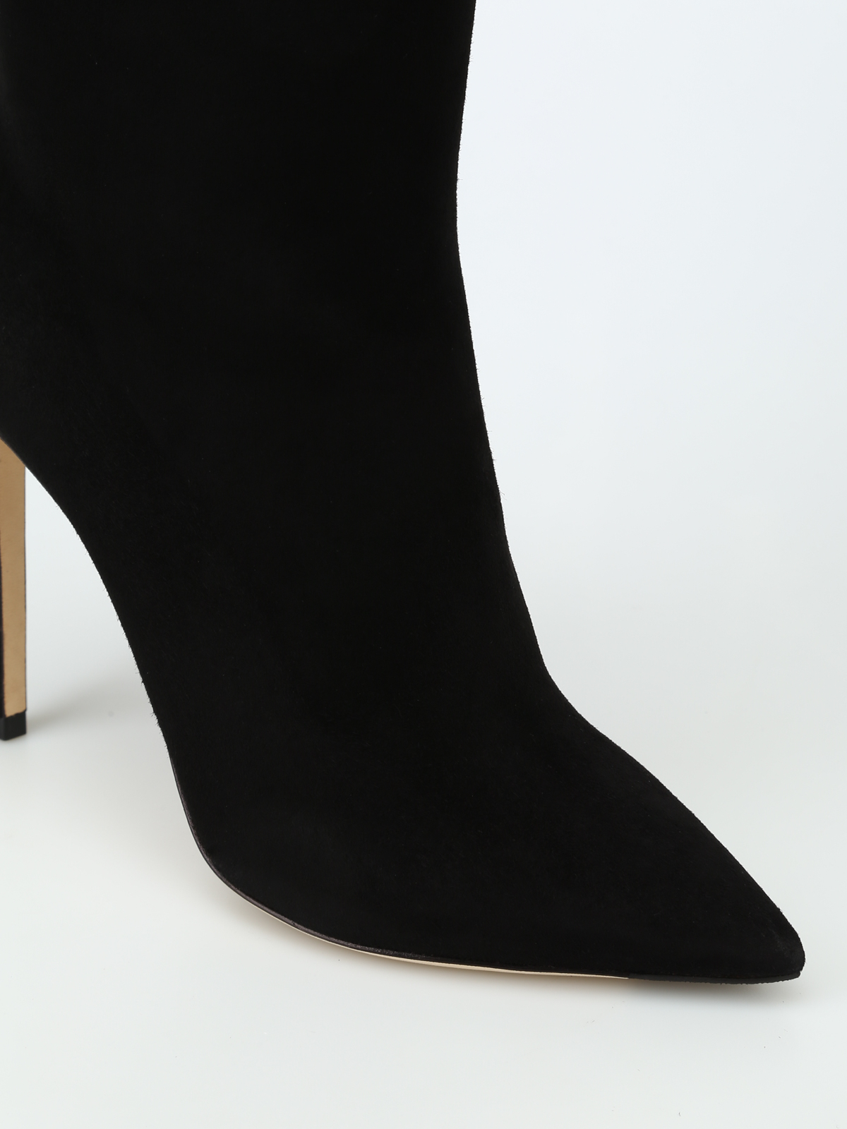 a150f819ef29 iKRIX JIMMY CHOO  ankle boots - Helaine 100 black suede heeled booties
