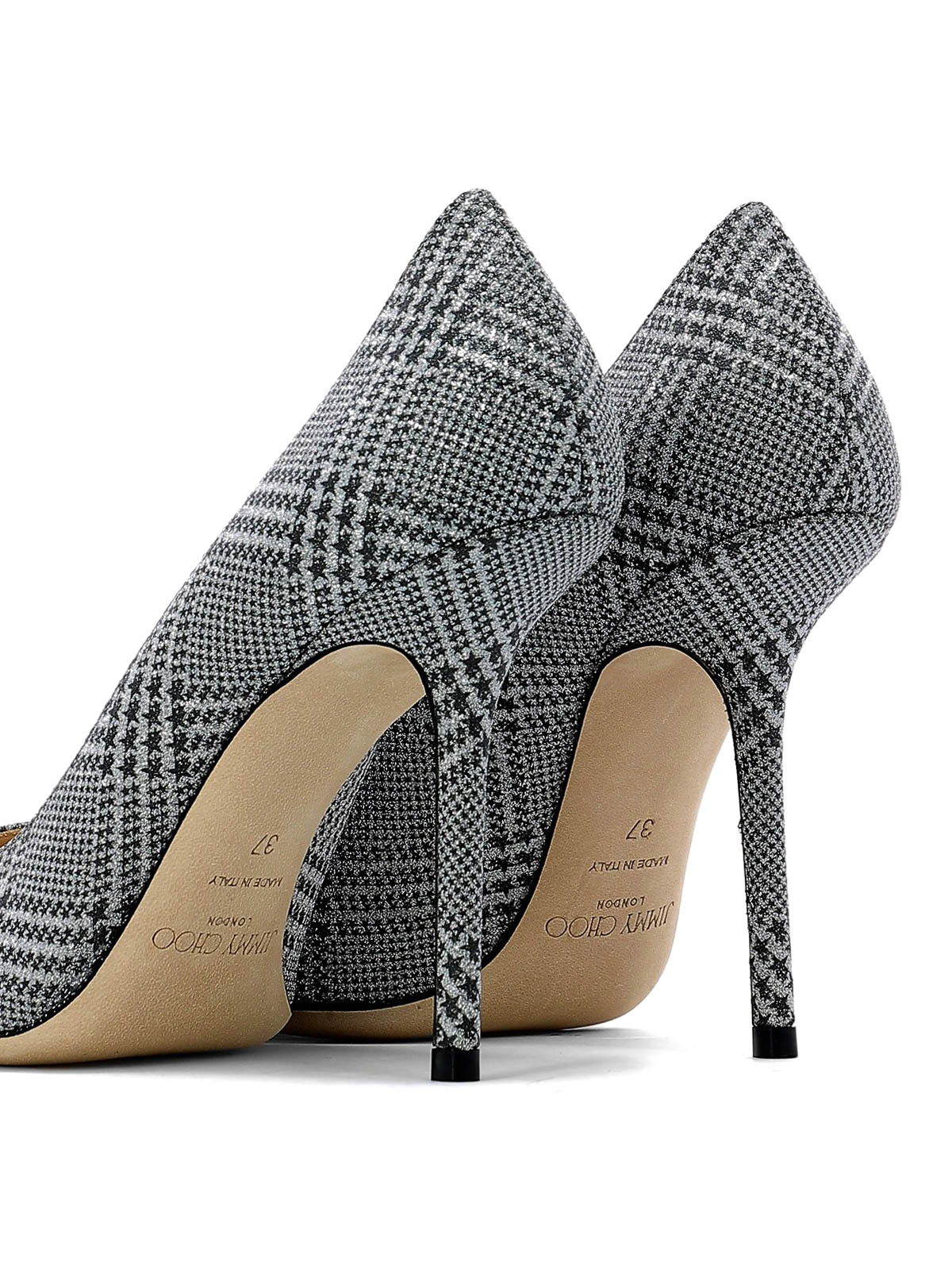 fotos oficiales 20204 bd074 Jimmy Choo - Love 100 star print pumps - court shoes ...