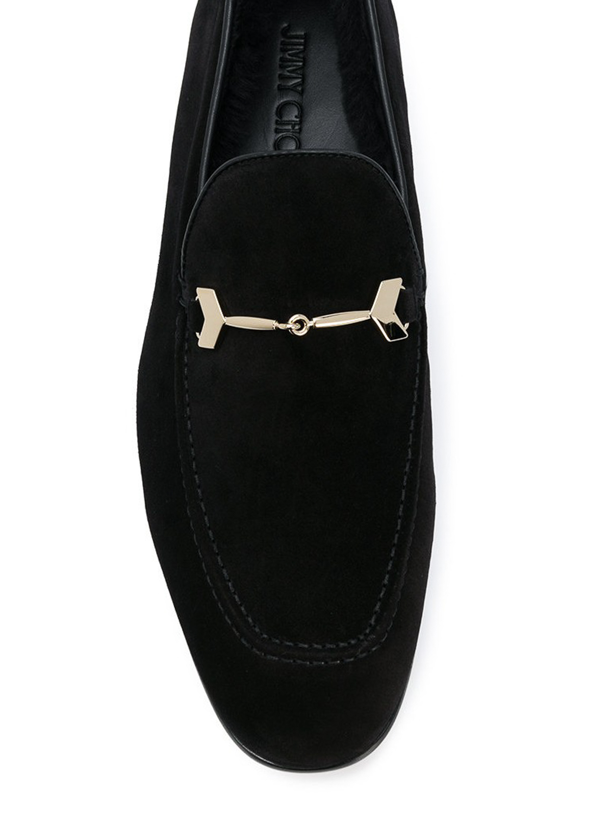 Jimmy Choo - Marti suede loafers with