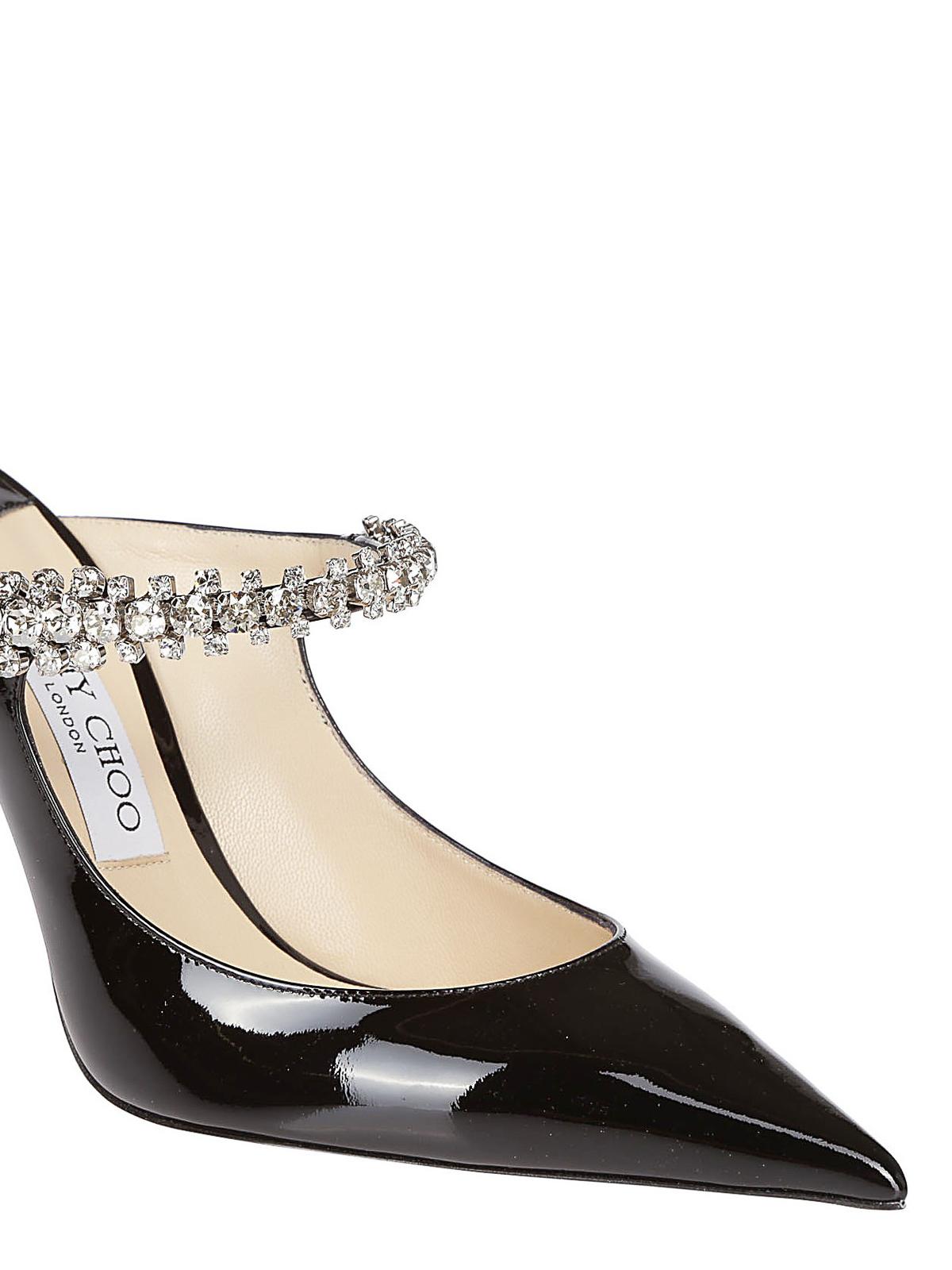 f6193d55266c iKRIX JIMMY CHOO  mules shoes - Bing 100 jewelled patent mules