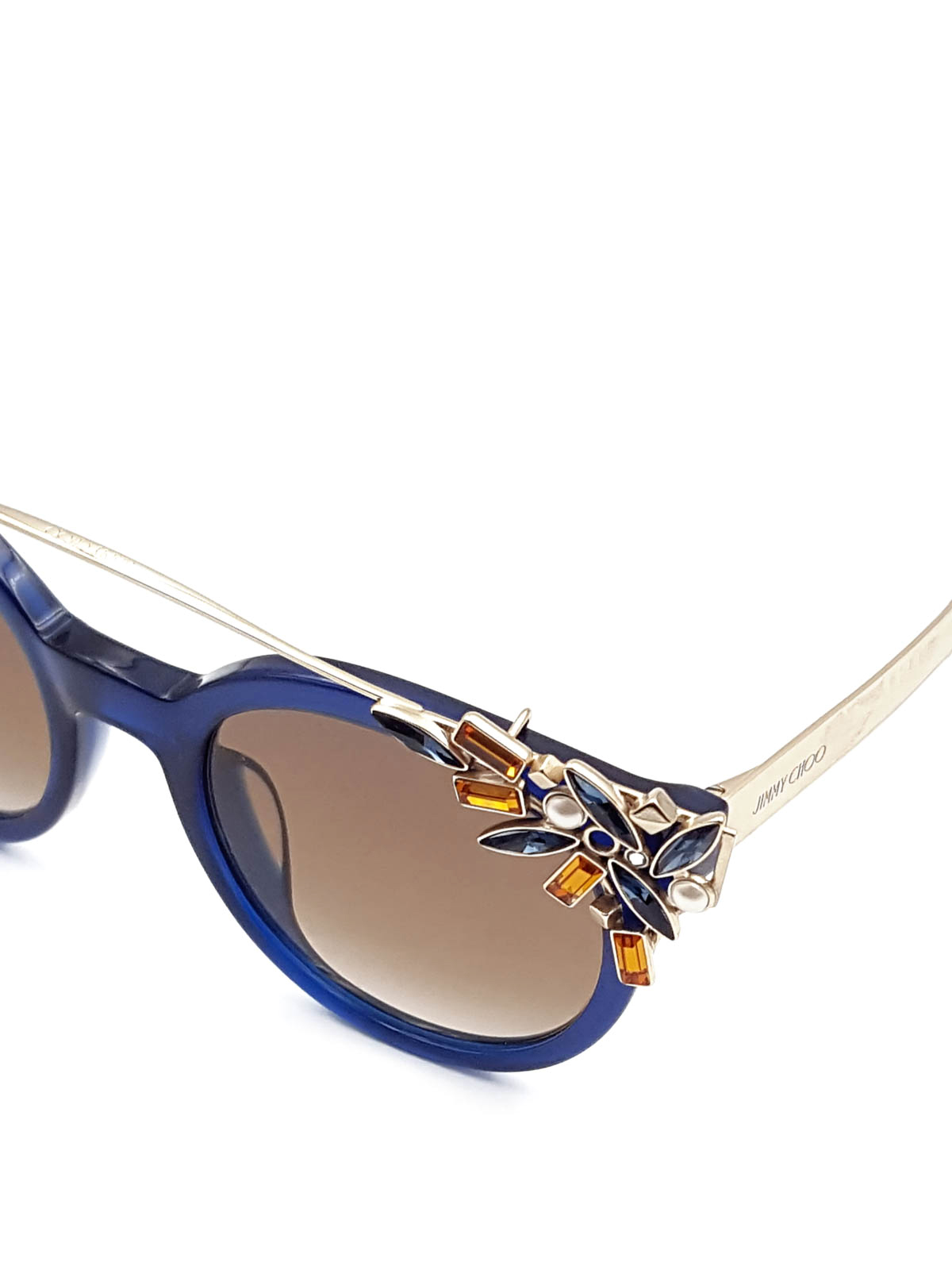 6fd0eb287f7cb Jimmy Choo - Vivy sunglasses - sunglasses - VIVYS1UN