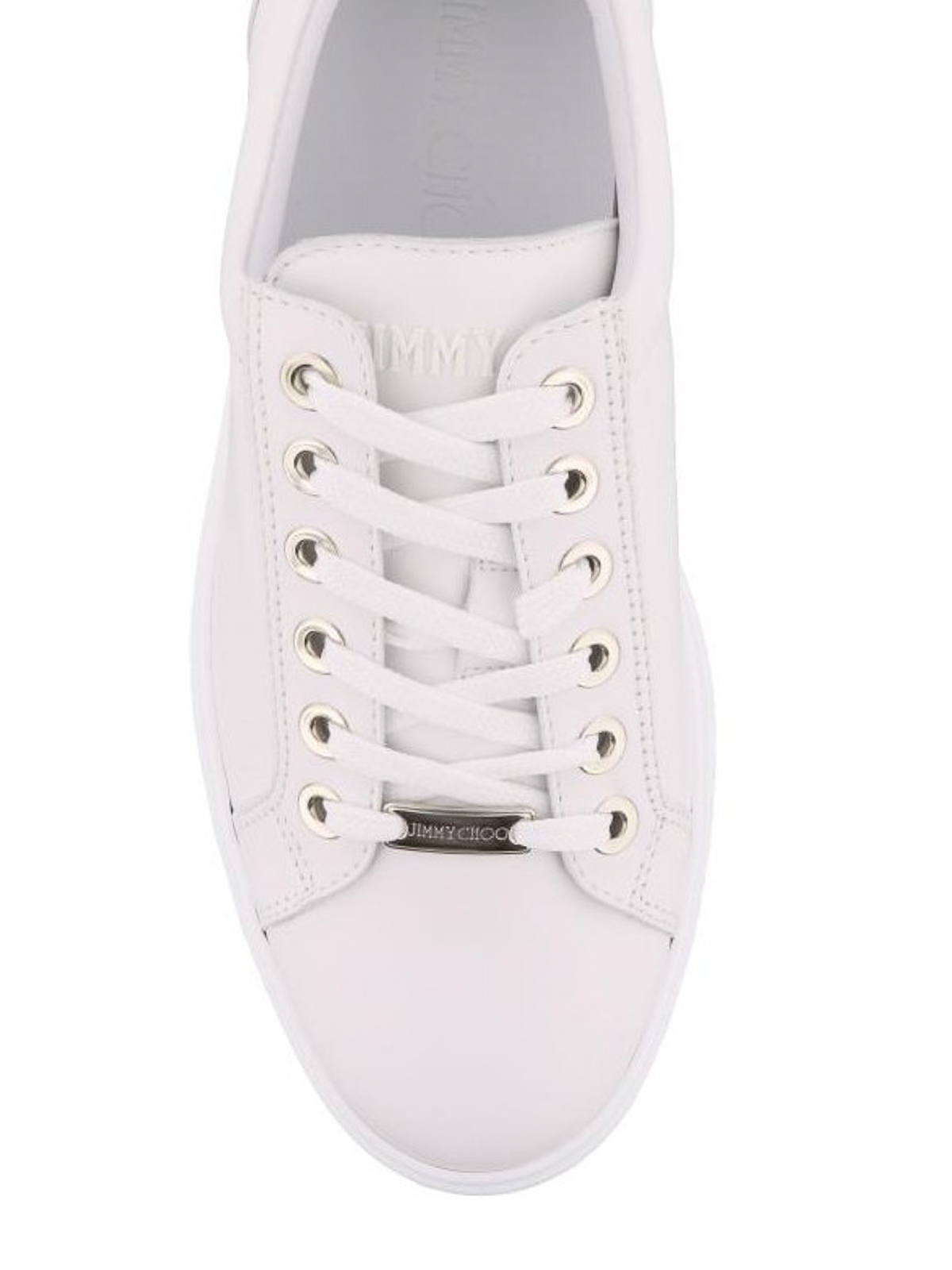 Jimmy Choo - Cash total white leather