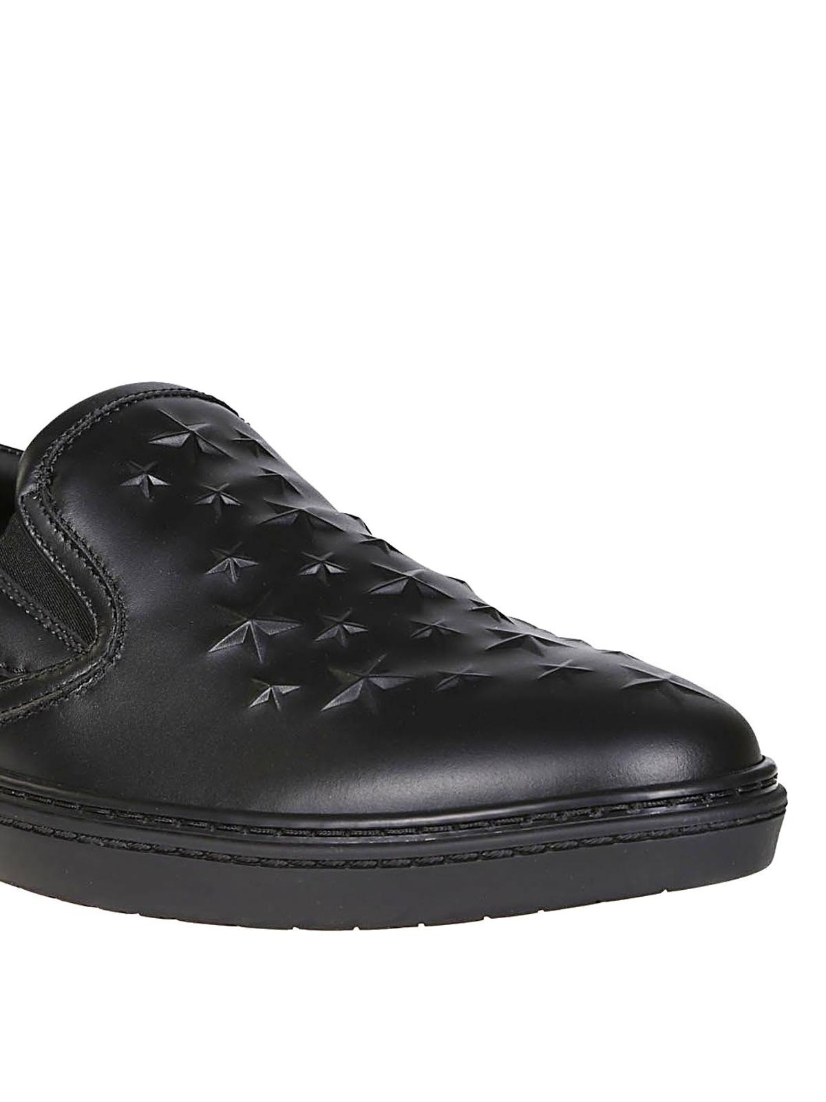 Jimmy Choo - Grove black leather slip