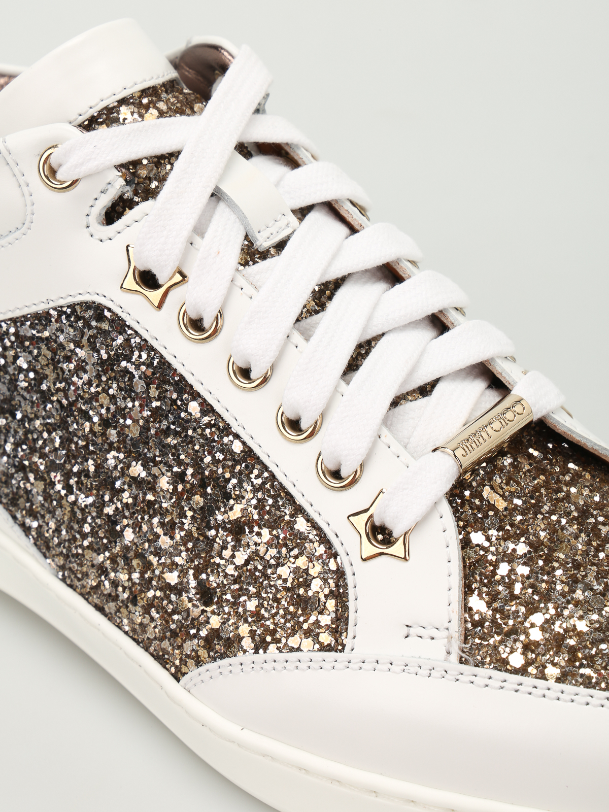 Jimmy Choo - Miami leather and glitter